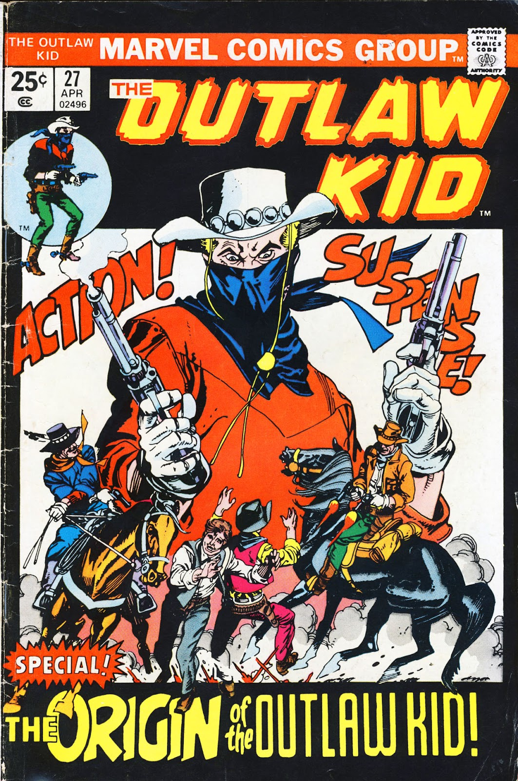The Outlaw Kid (1970) 27 Page 1