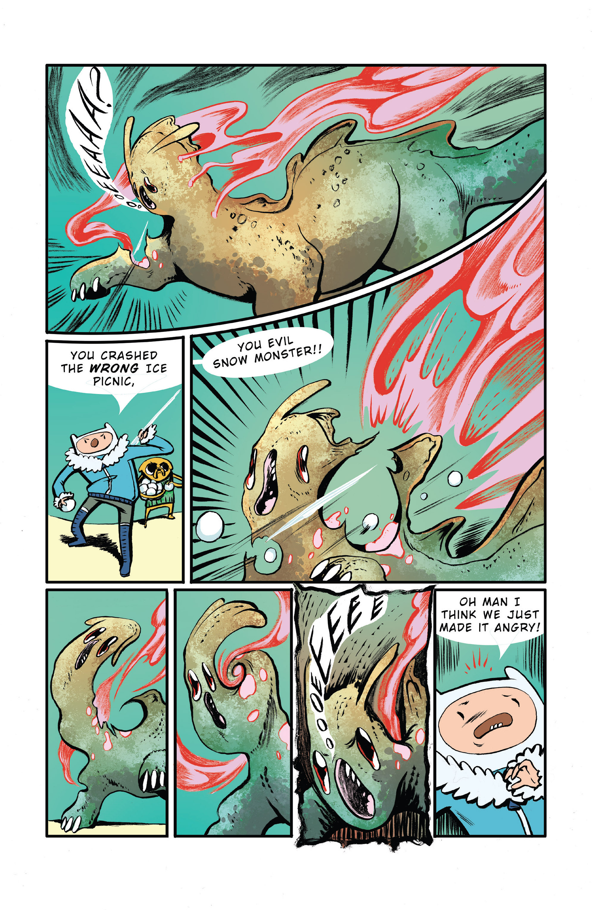 Read online Adventure Time 2014 Winter Special comic -  Issue #Adventure Time 2014 Winter Special Full - 30
