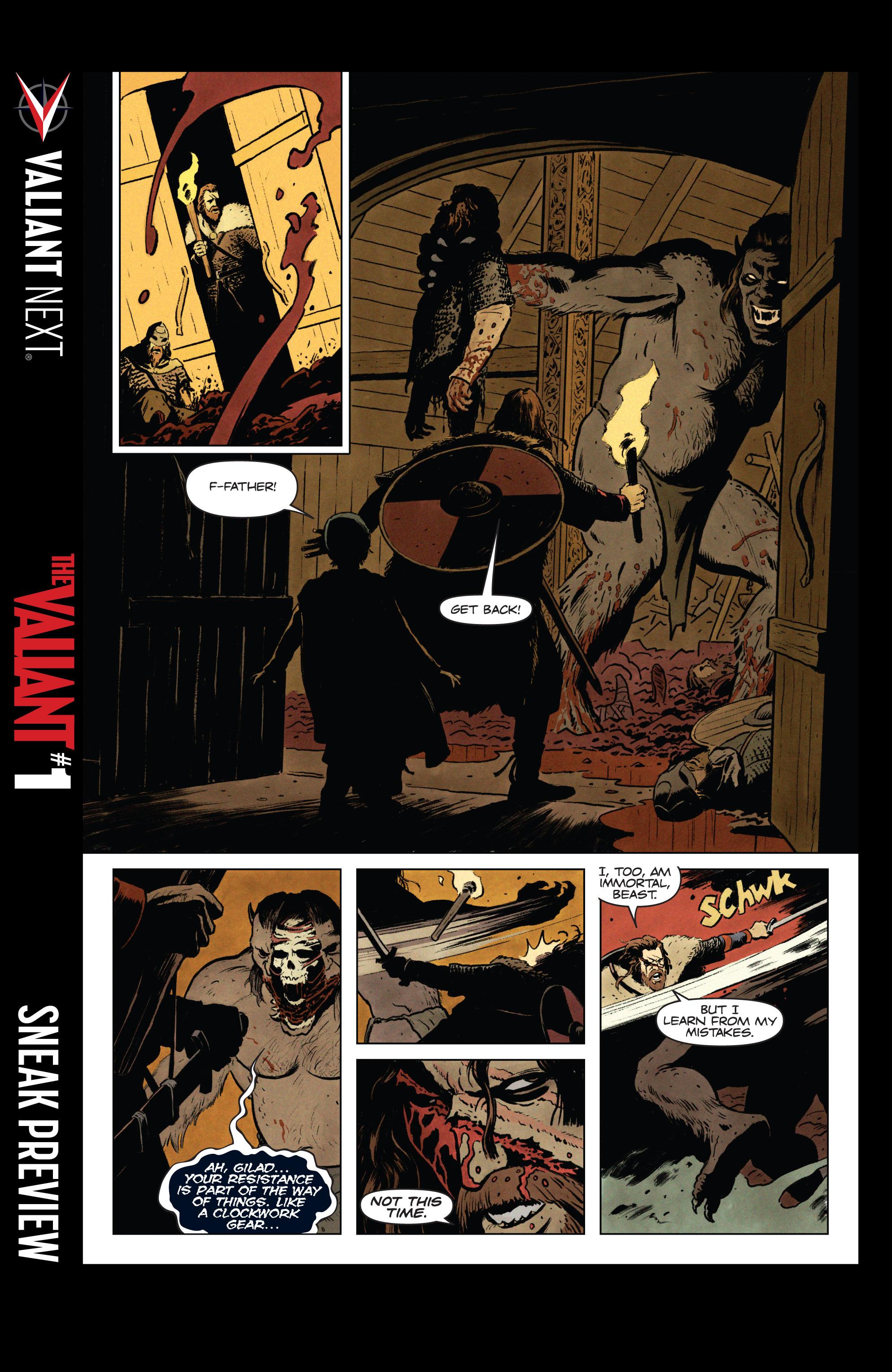 Read online Eternal Warrior: Days of Steel comic -  Issue #1 - 27