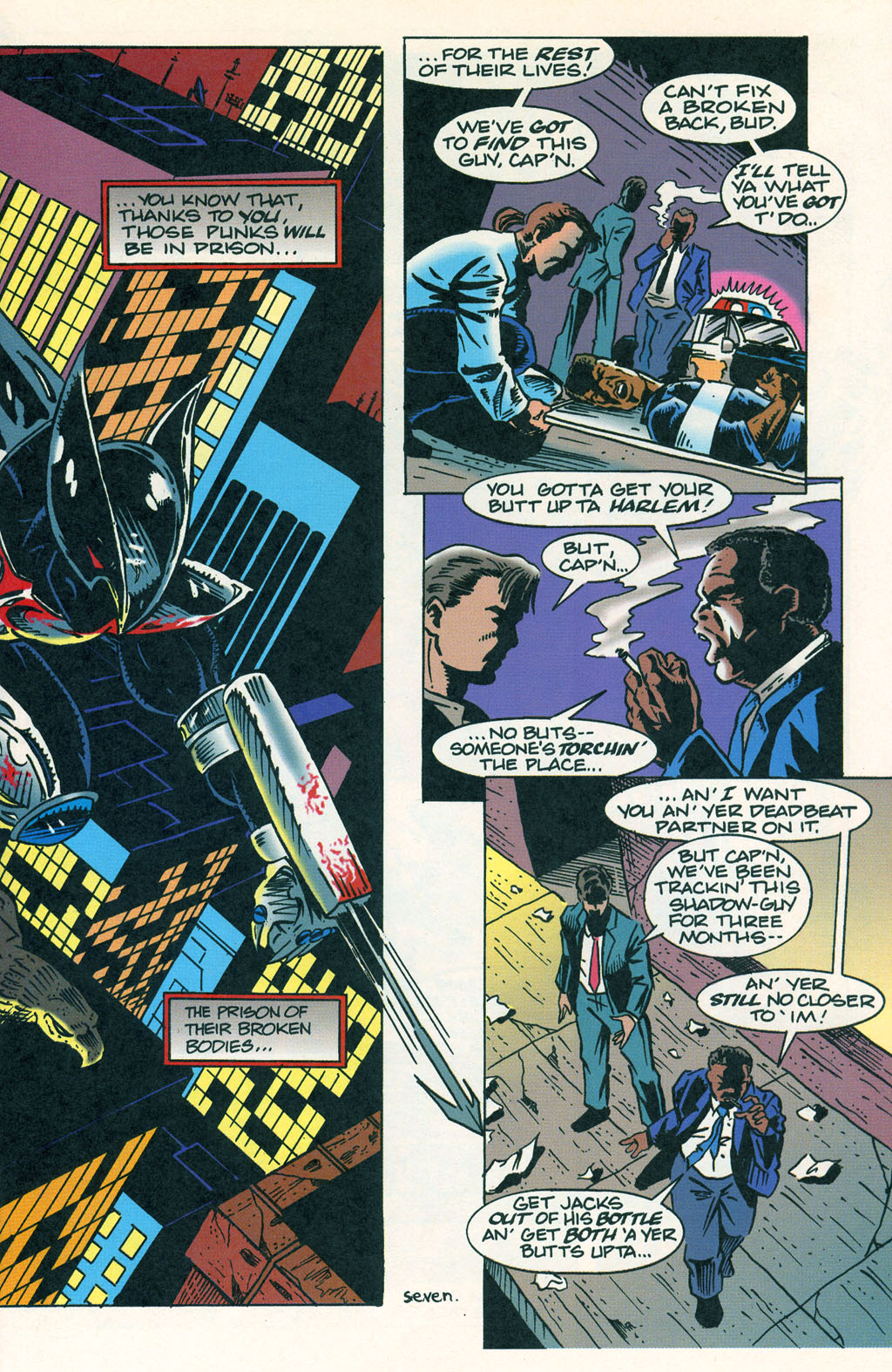 Read online ShadowHawk comic -  Issue #1 - 11