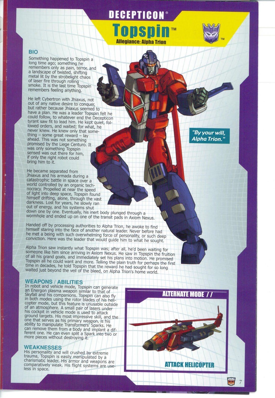Read online Transformers: Collectors' Club comic -  Issue #25 - 7