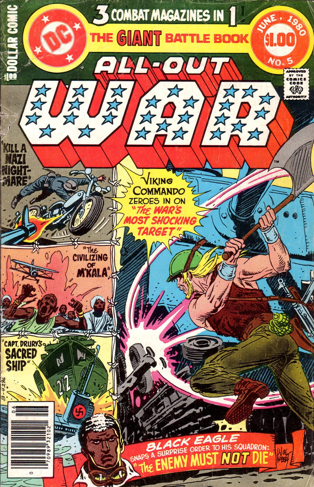 Read online All-Out War comic -  Issue #5 - 1