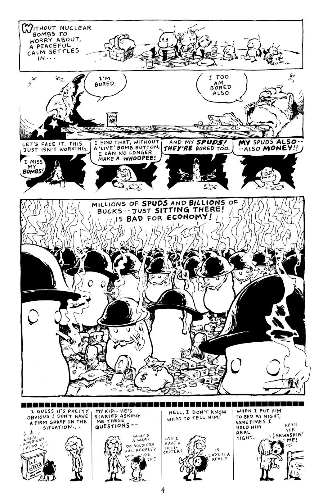 Adolescent Radioactive Black Belt Hamsters (1986) issue 8 - Page 29