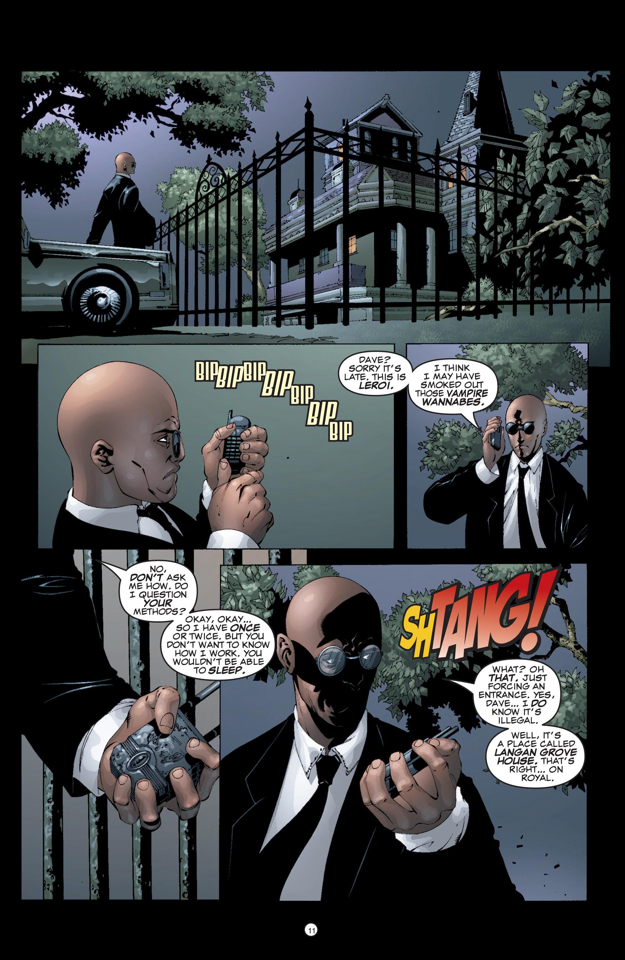 Read online Shadowman (1999) comic -  Issue #5 - 13