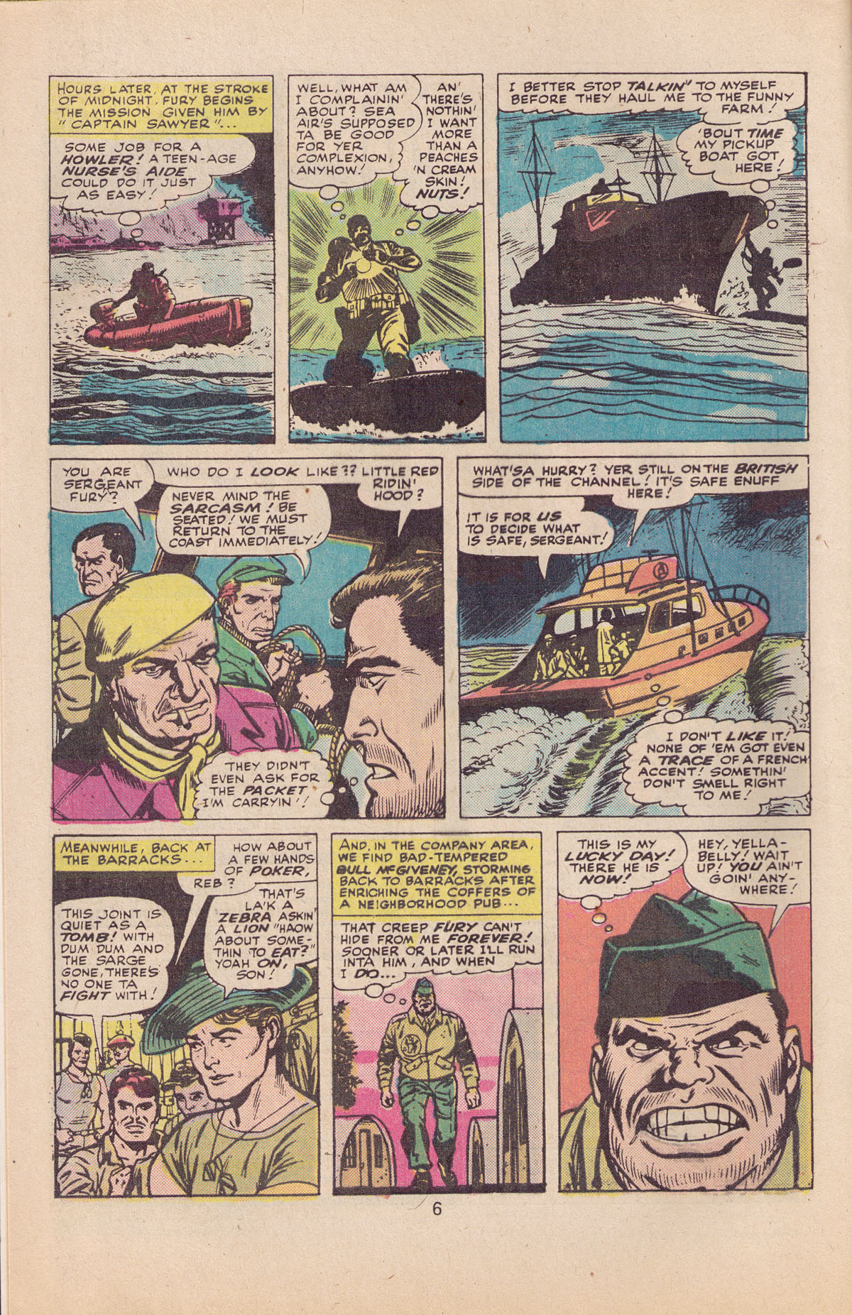 Read online Sgt. Fury comic -  Issue #127 - 8