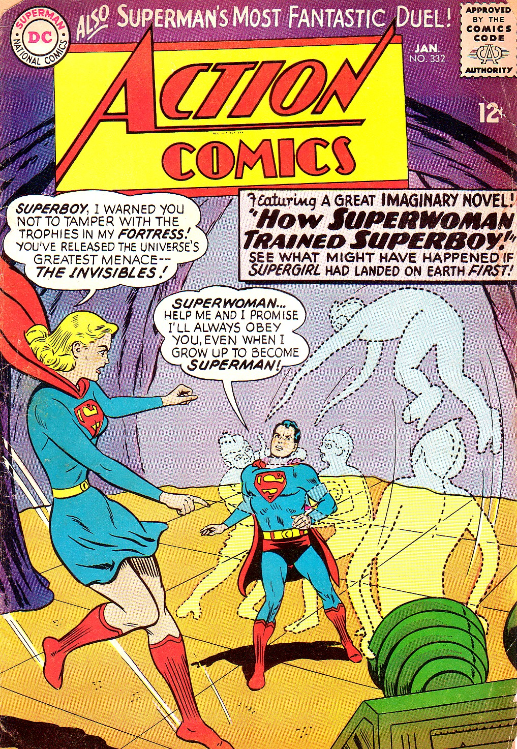 Read online Action Comics (1938) comic -  Issue #332 - 1