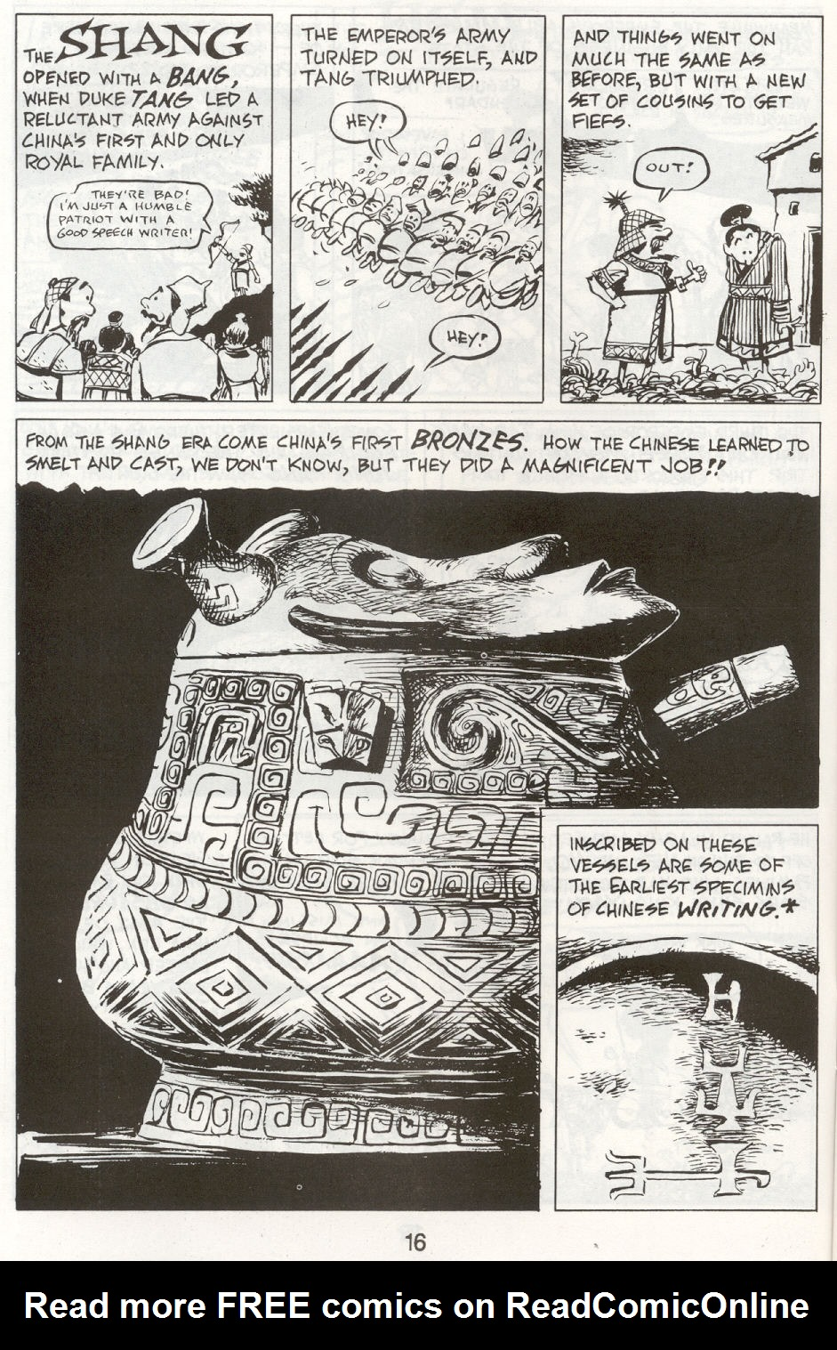 Read online The Cartoon History of the Universe comic -  Issue #9 - 19