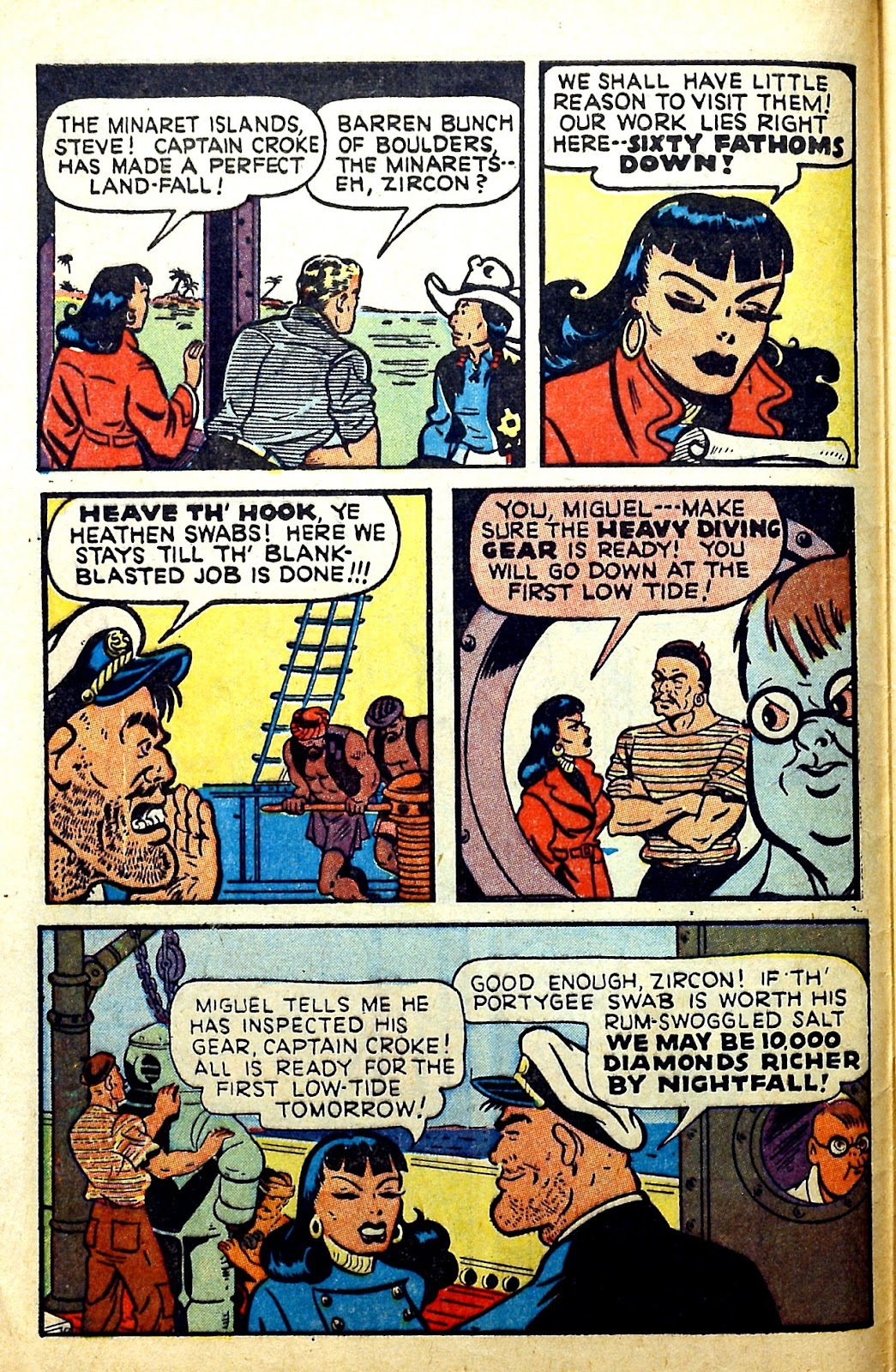 Read online Famous Funnies comic -  Issue #166 - 8