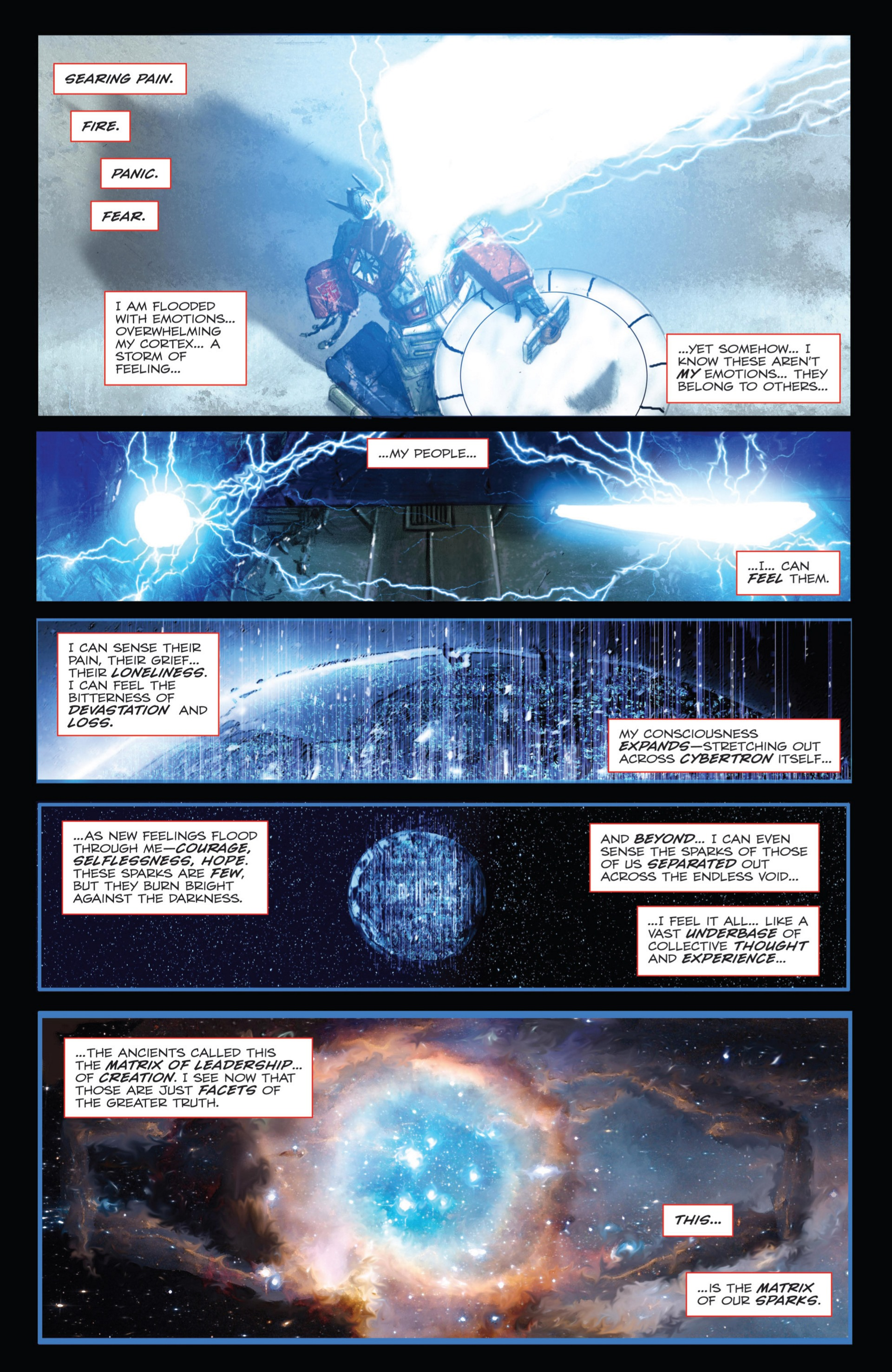 Read online Transformers: Autocracy comic -  Issue # Full - 83