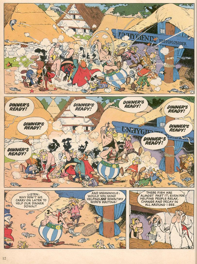 Read online Asterix comic -  Issue #25 - 9