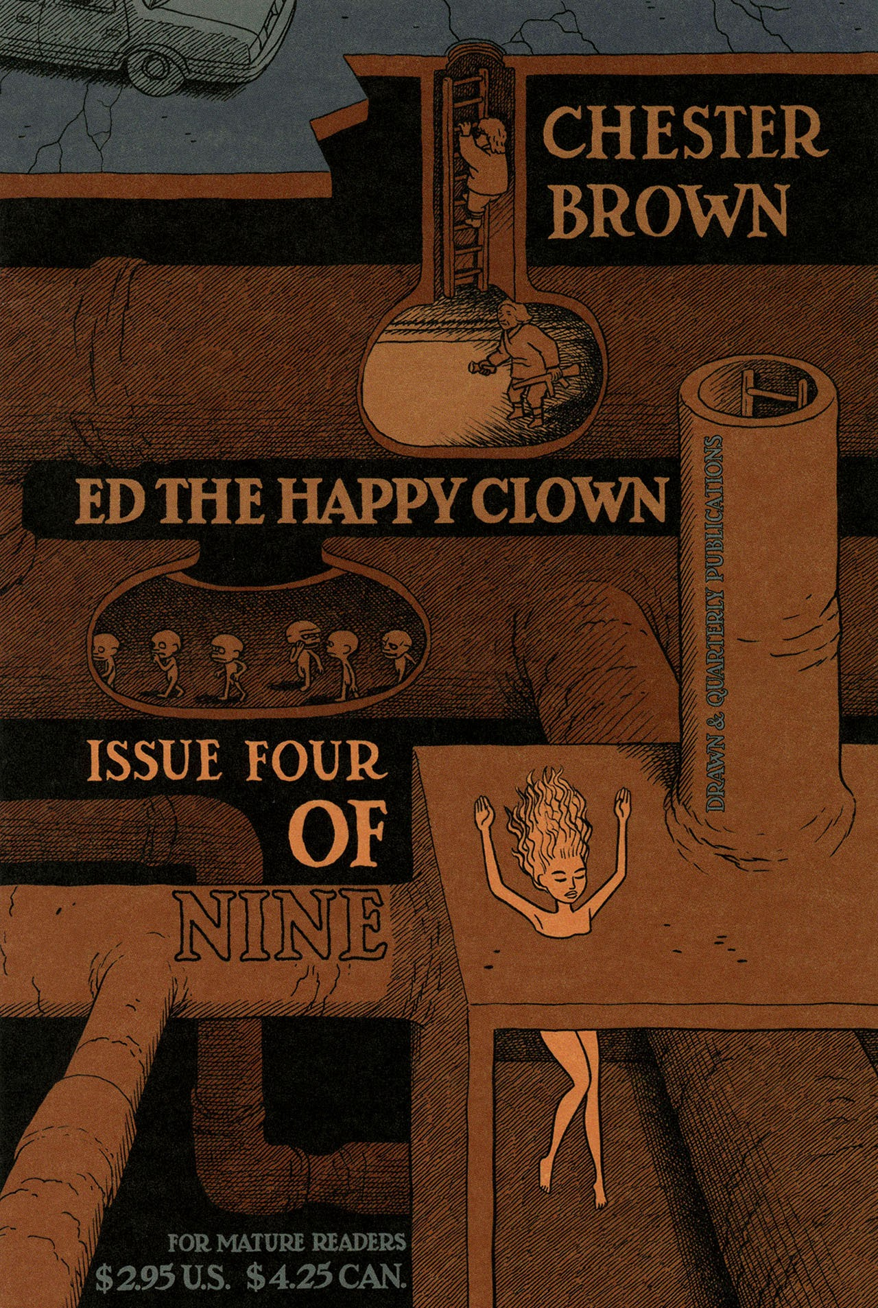 Ed the Happy Clown 4 Page 1