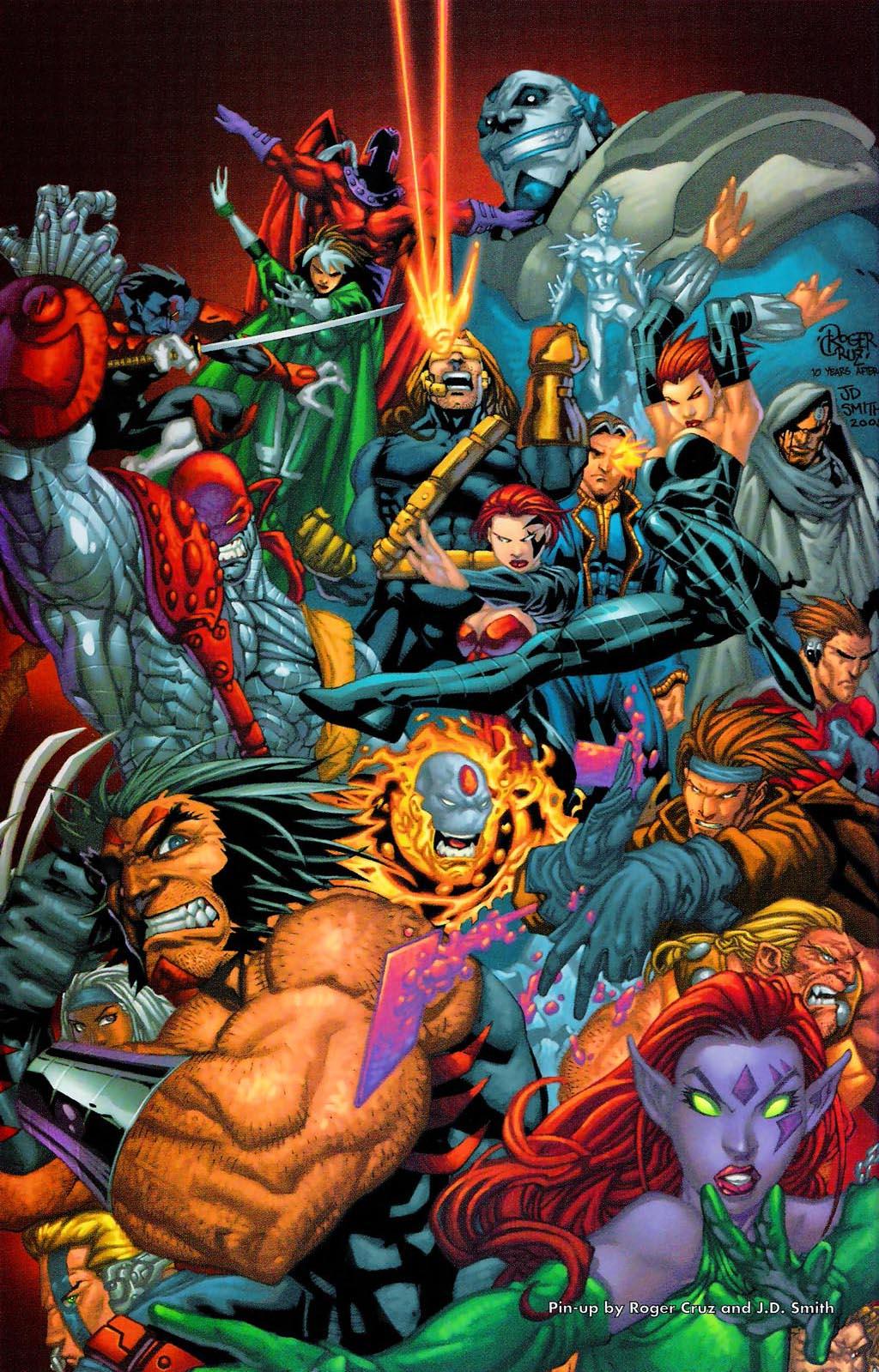Read online Age of Apocalypse (2005) comic -  Issue #0 - 35