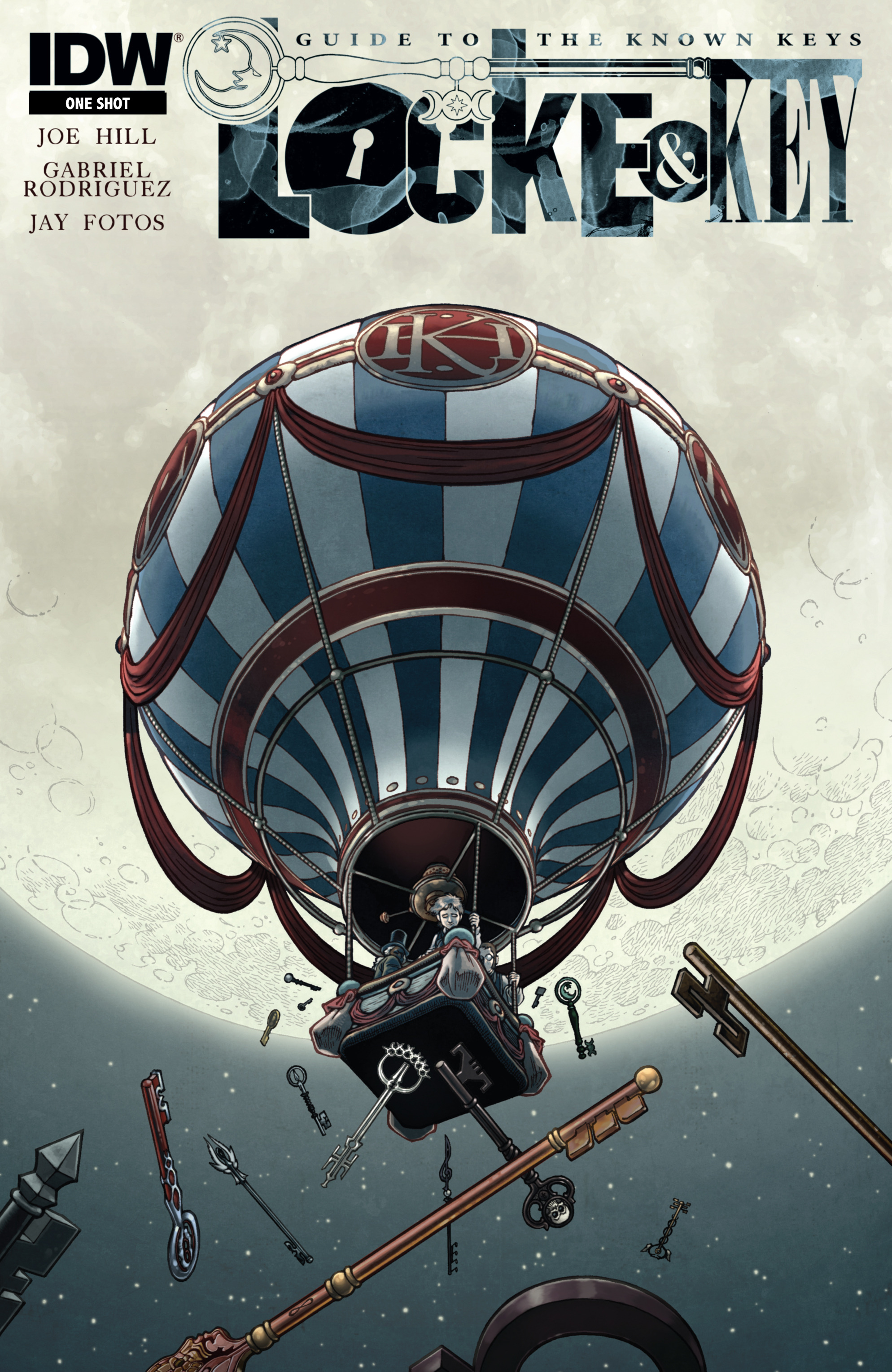 Read online Locke & Key: Guide to the Known Keys comic -  Issue # Full - 1