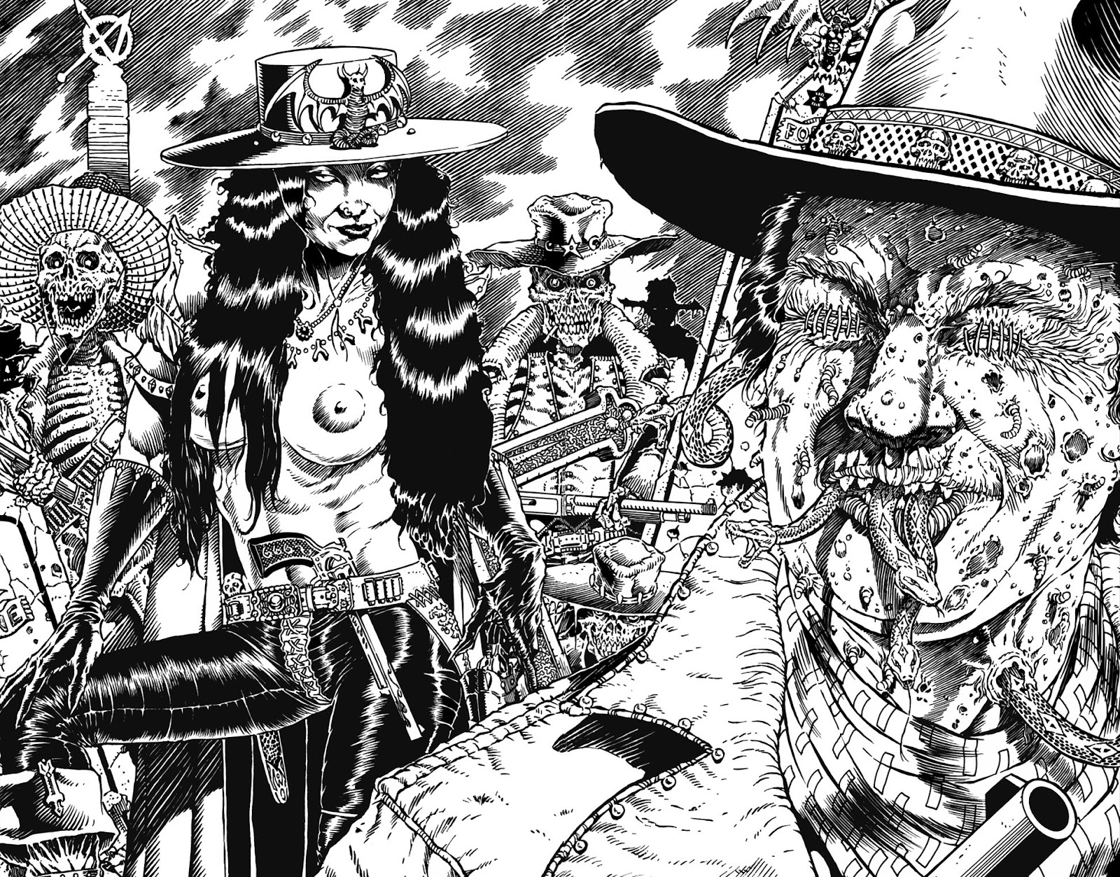 Read online Gunfighters in Hell comic -  Issue #5 - 3