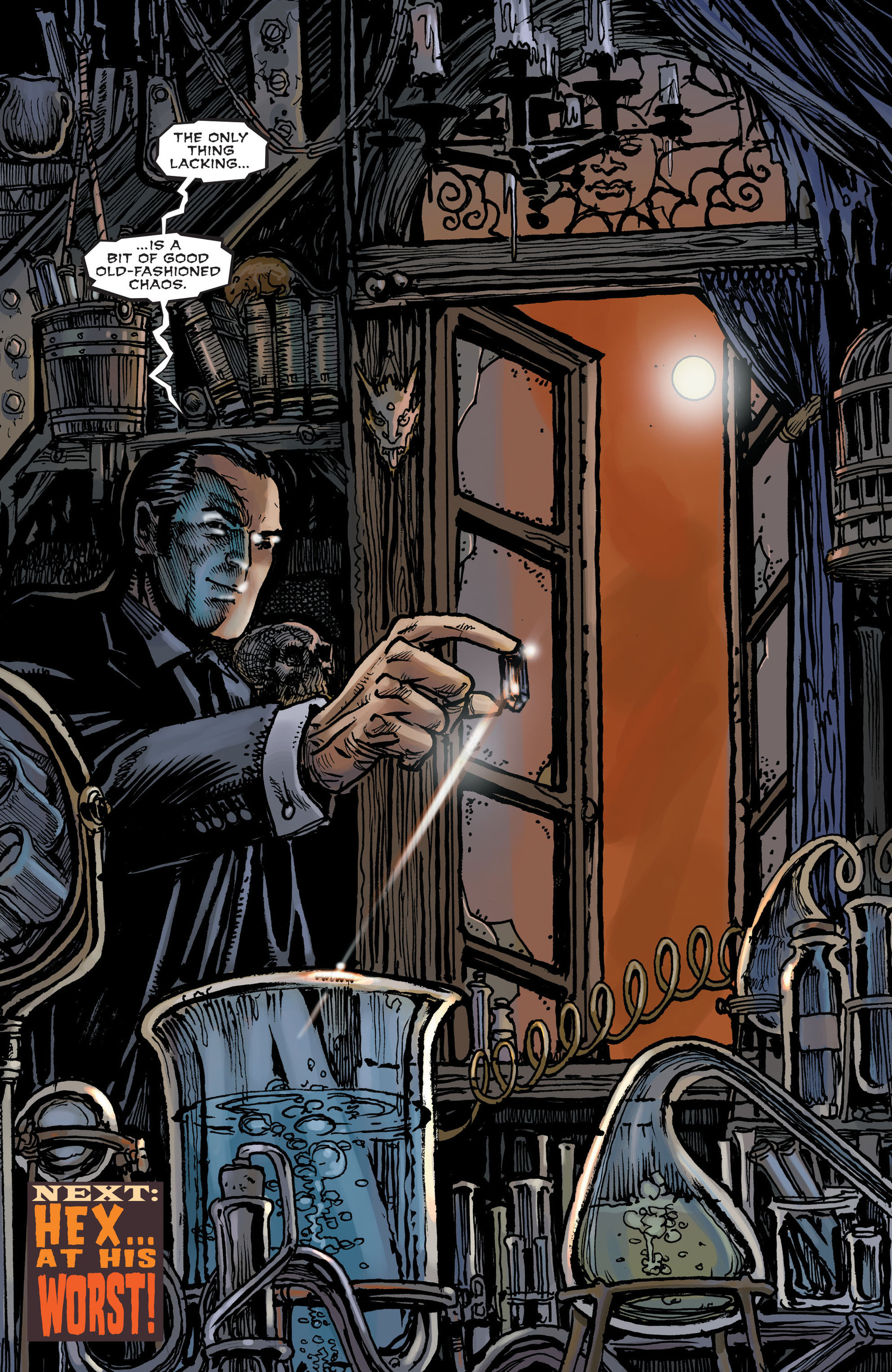 Read online All-Star Western (2011) comic -  Issue #15 - 21
