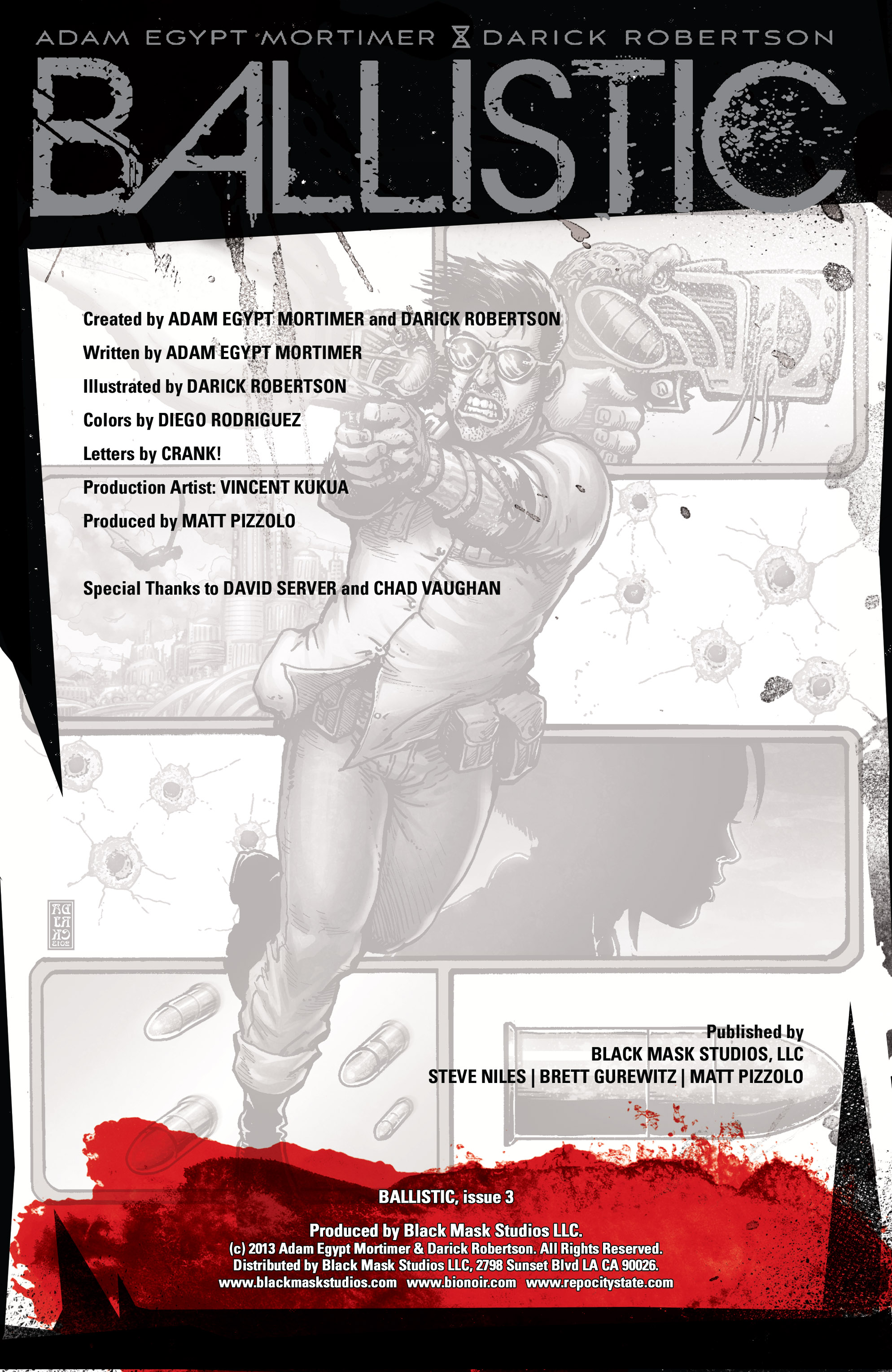 Read online Ballistic (2013) comic -  Issue #3 - 2