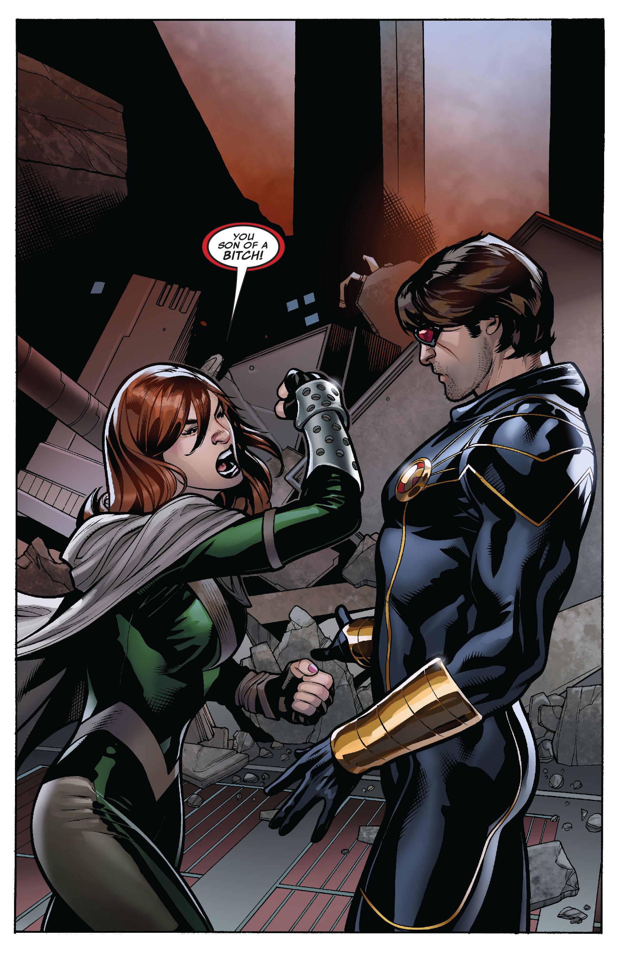Read online Uncanny X-Men (1963) comic -  Issue #525 - 3