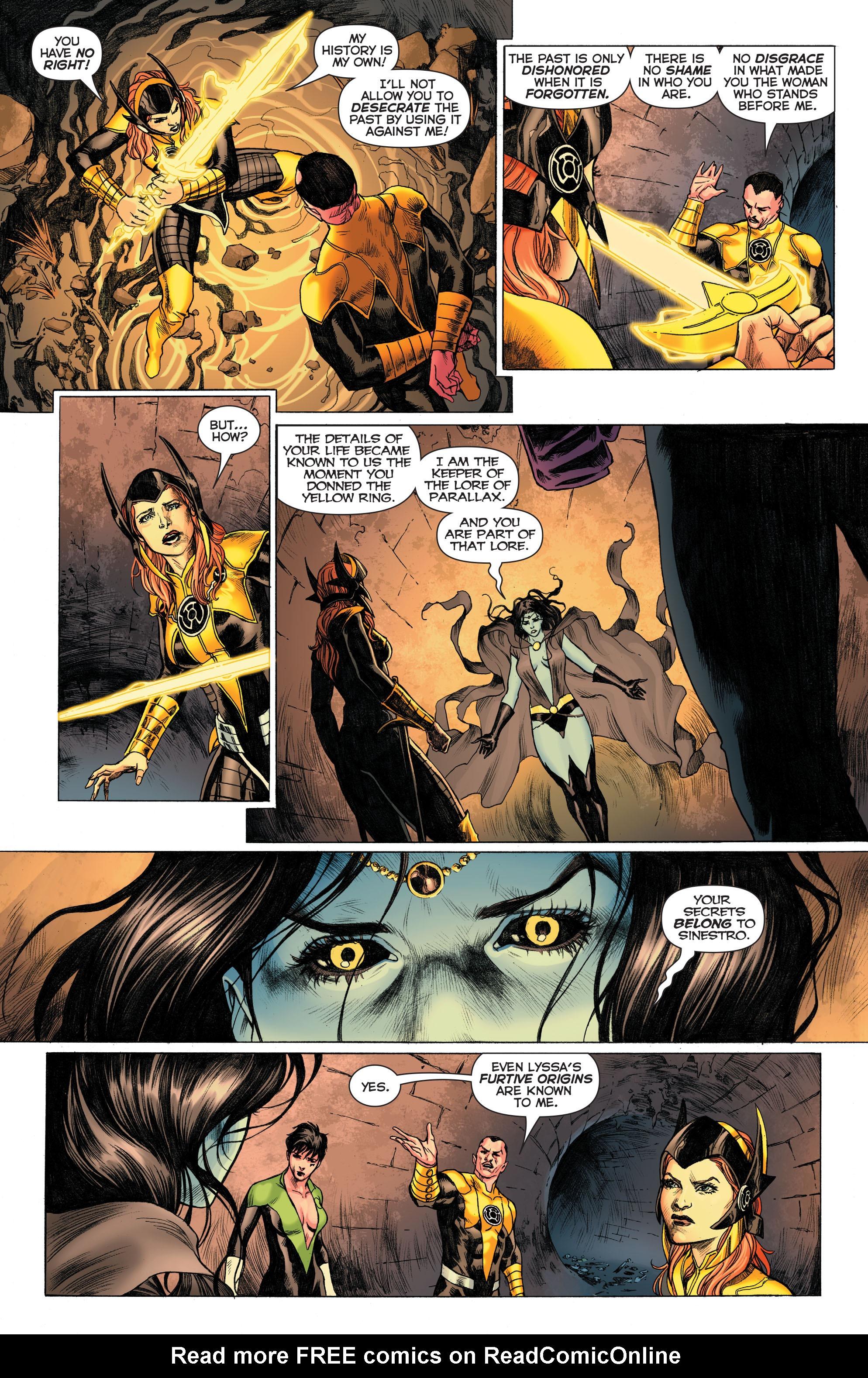 Read online Sinestro comic -  Issue # Annual 1 - 13