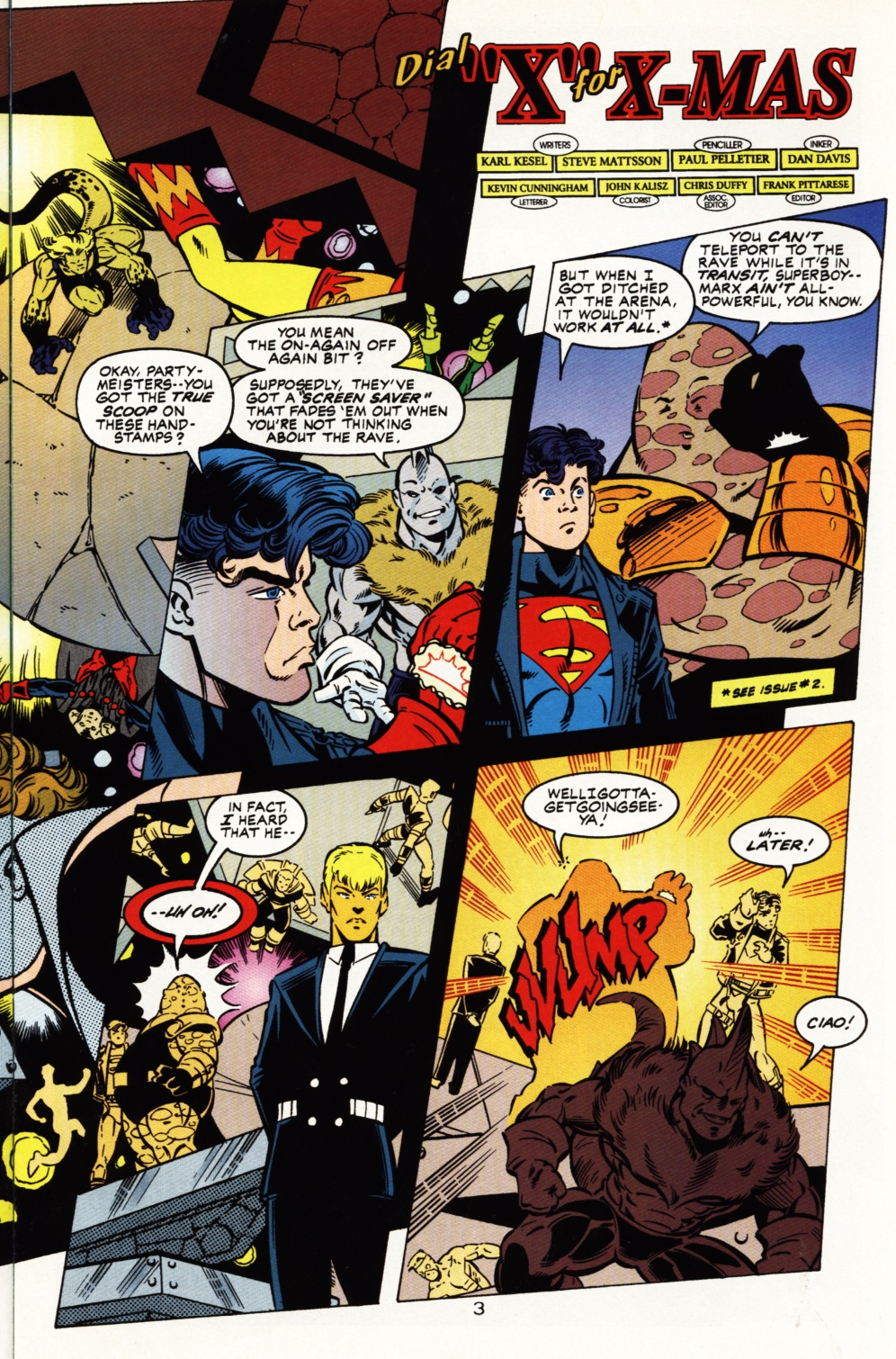 Read online Superboy & The Ravers comic -  Issue #5 - 4