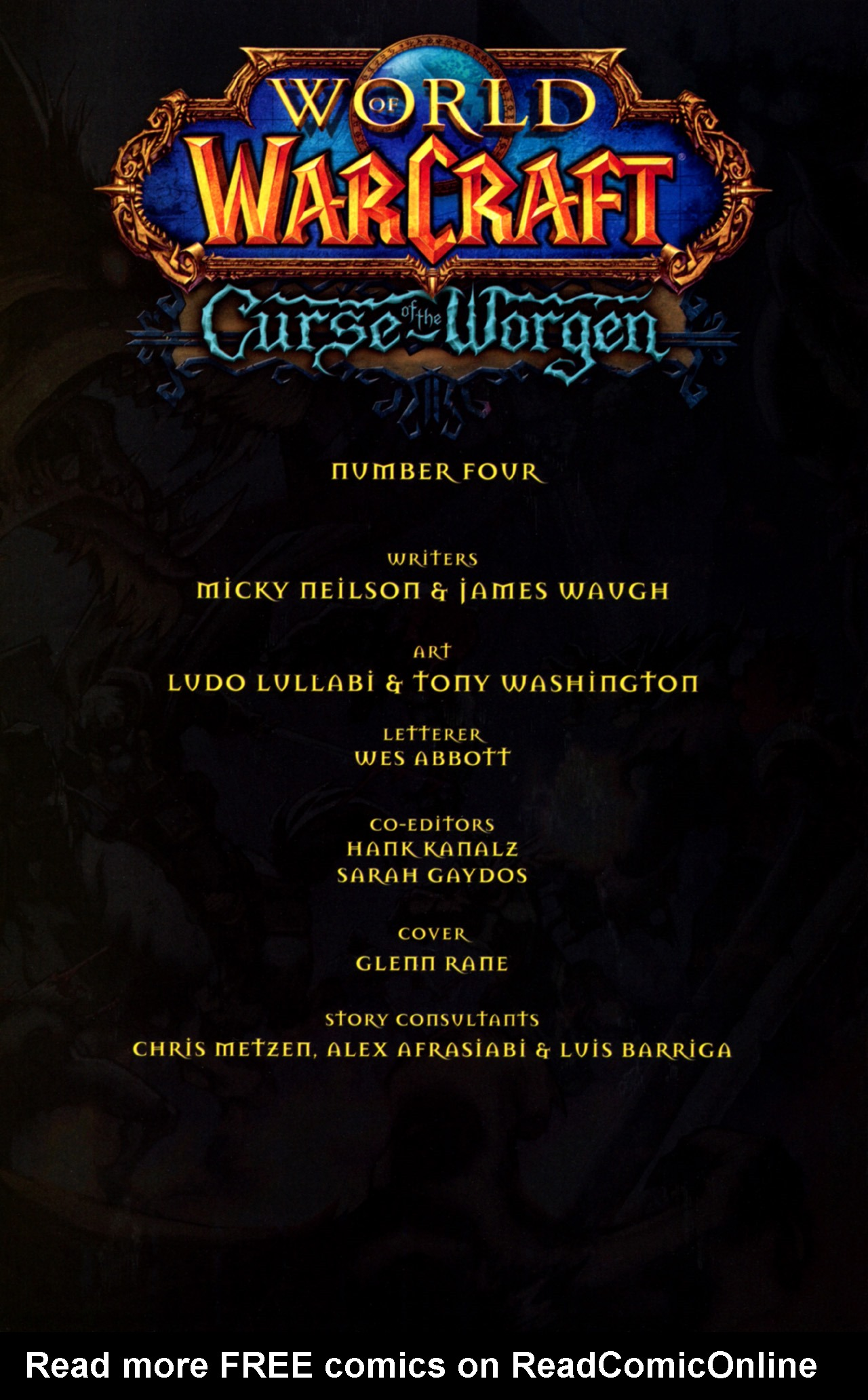 Read online World of Warcraft: Curse of the Worgen comic -  Issue #4 - 2
