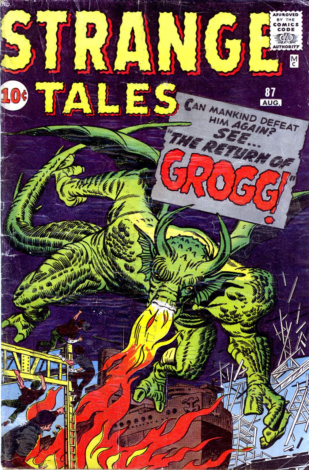 Strange Tales (1951) 87 Page 1