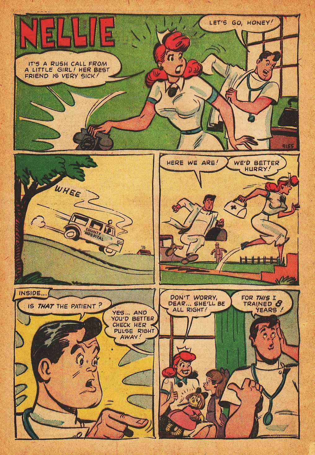 Read online Nellie The Nurse (1945) comic -  Issue #32 - 28
