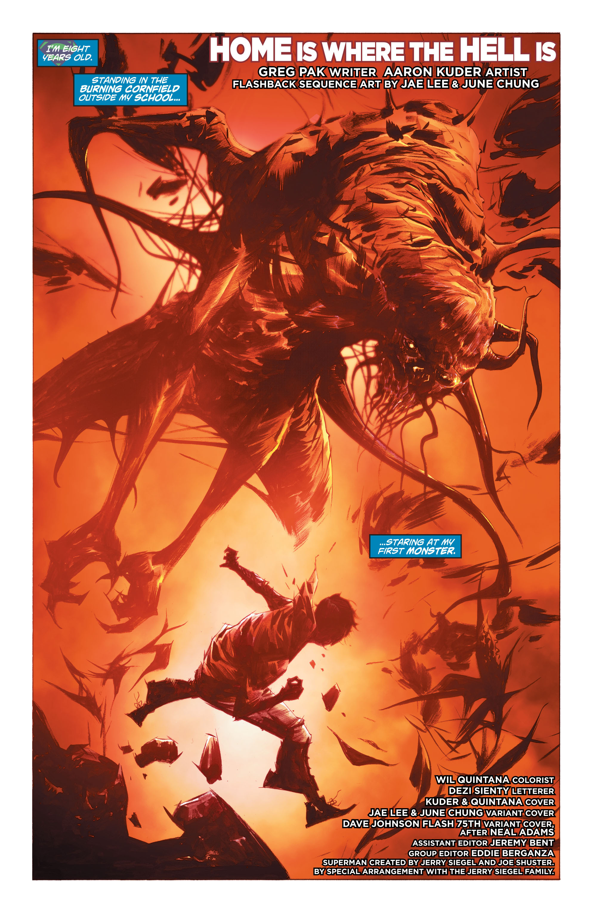 Read online Action Comics (2011) comic -  Issue #38 - 2