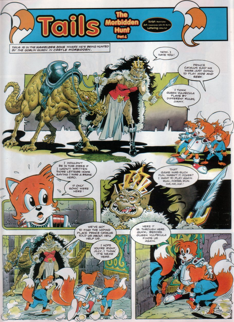 Read online Sonic the Comic comic -  Issue #31 - 19