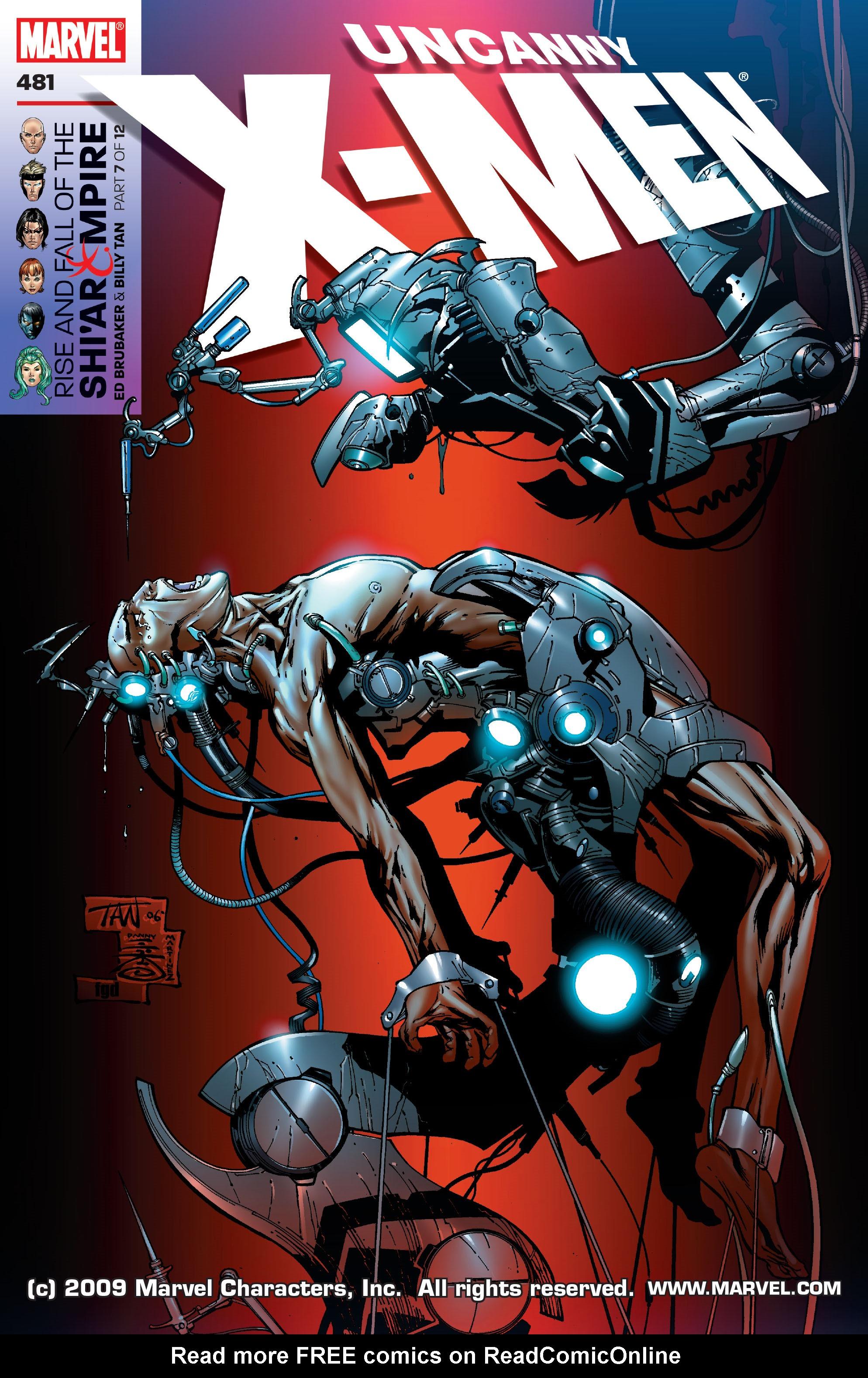 Read online Uncanny X-Men (1963) comic -  Issue #481 - 1