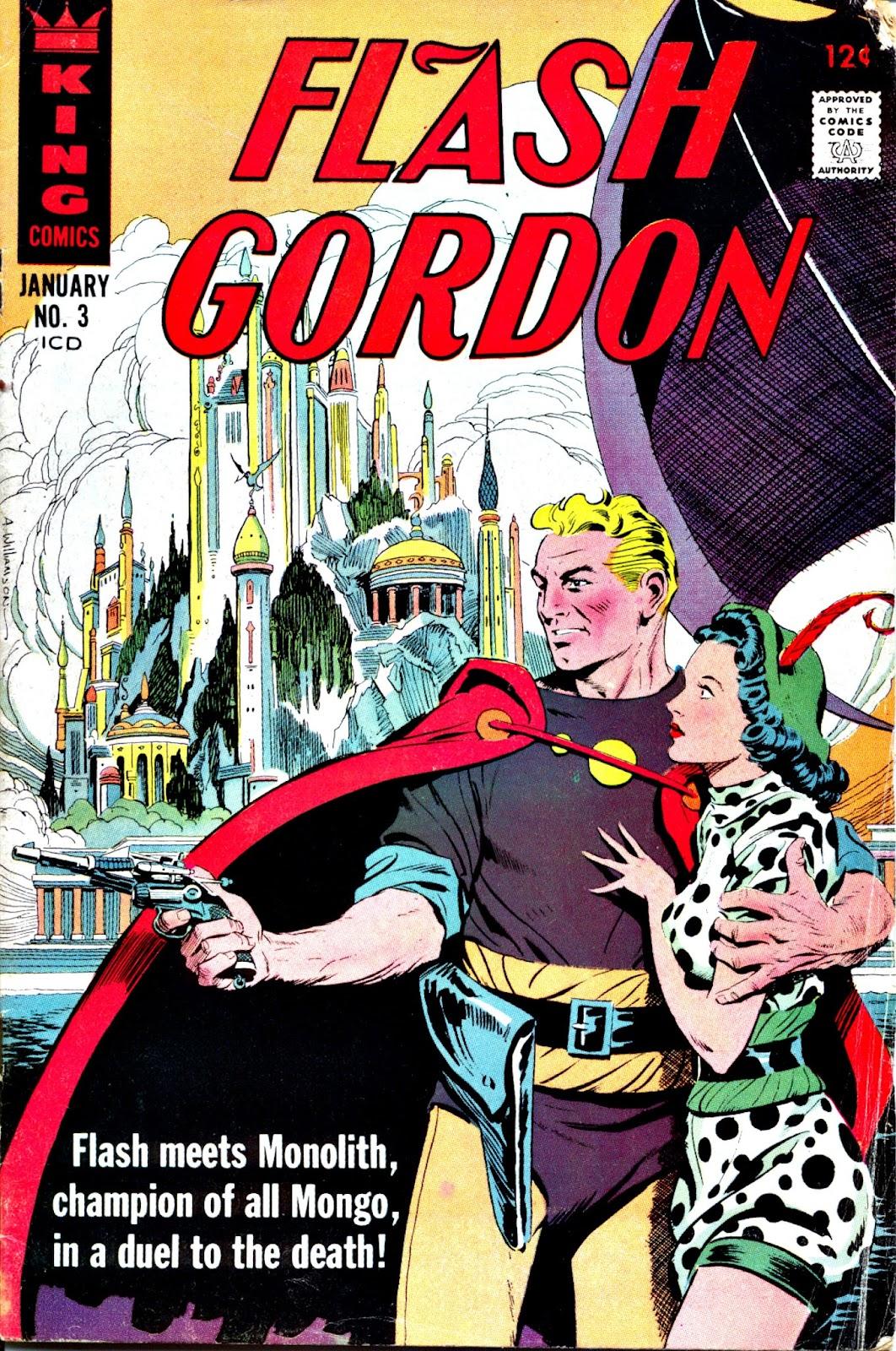 Flash Gordon (1966) issue 3 - Page 1
