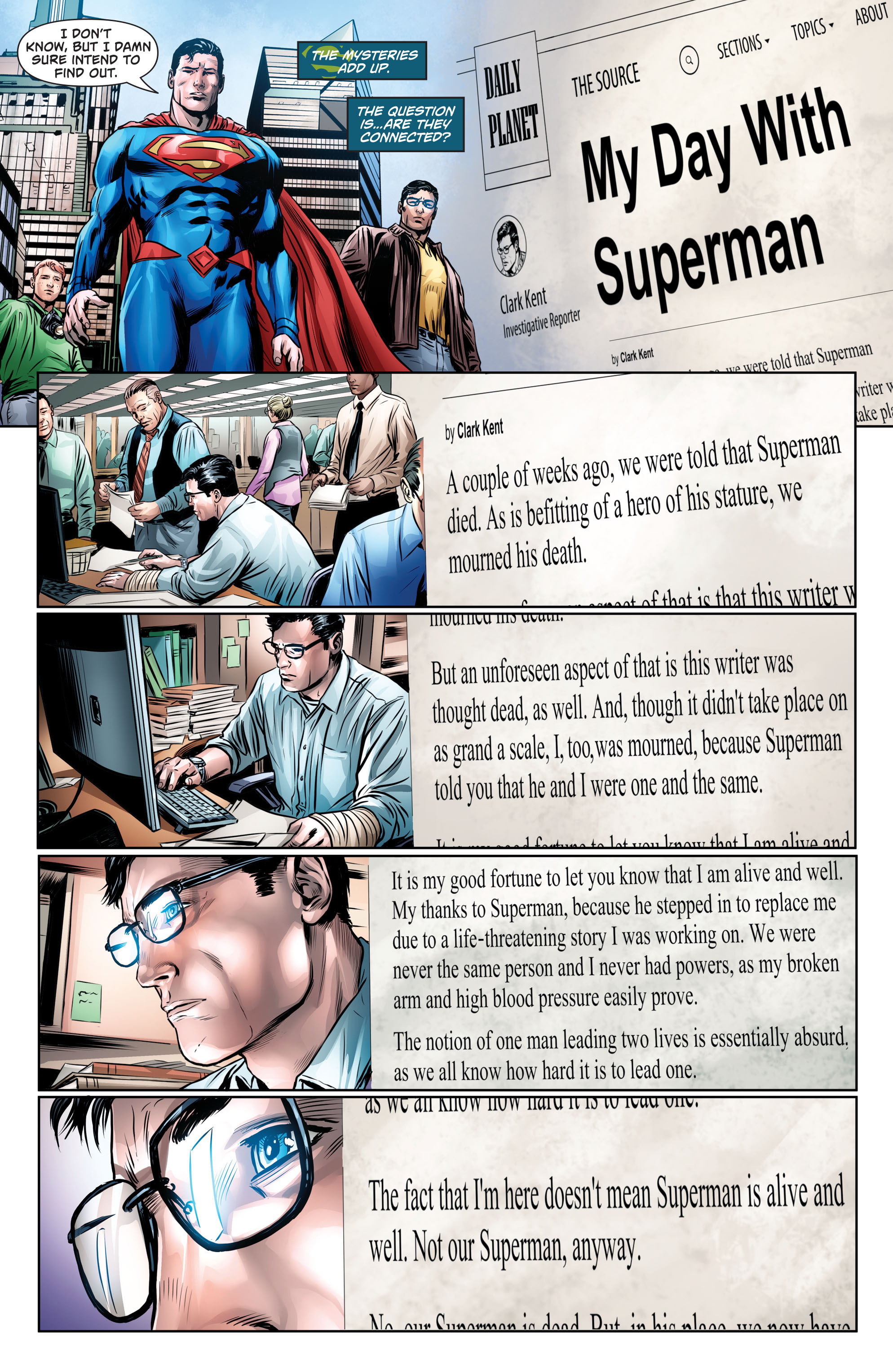 Read online Action Comics (2016) comic -  Issue #964 - 18
