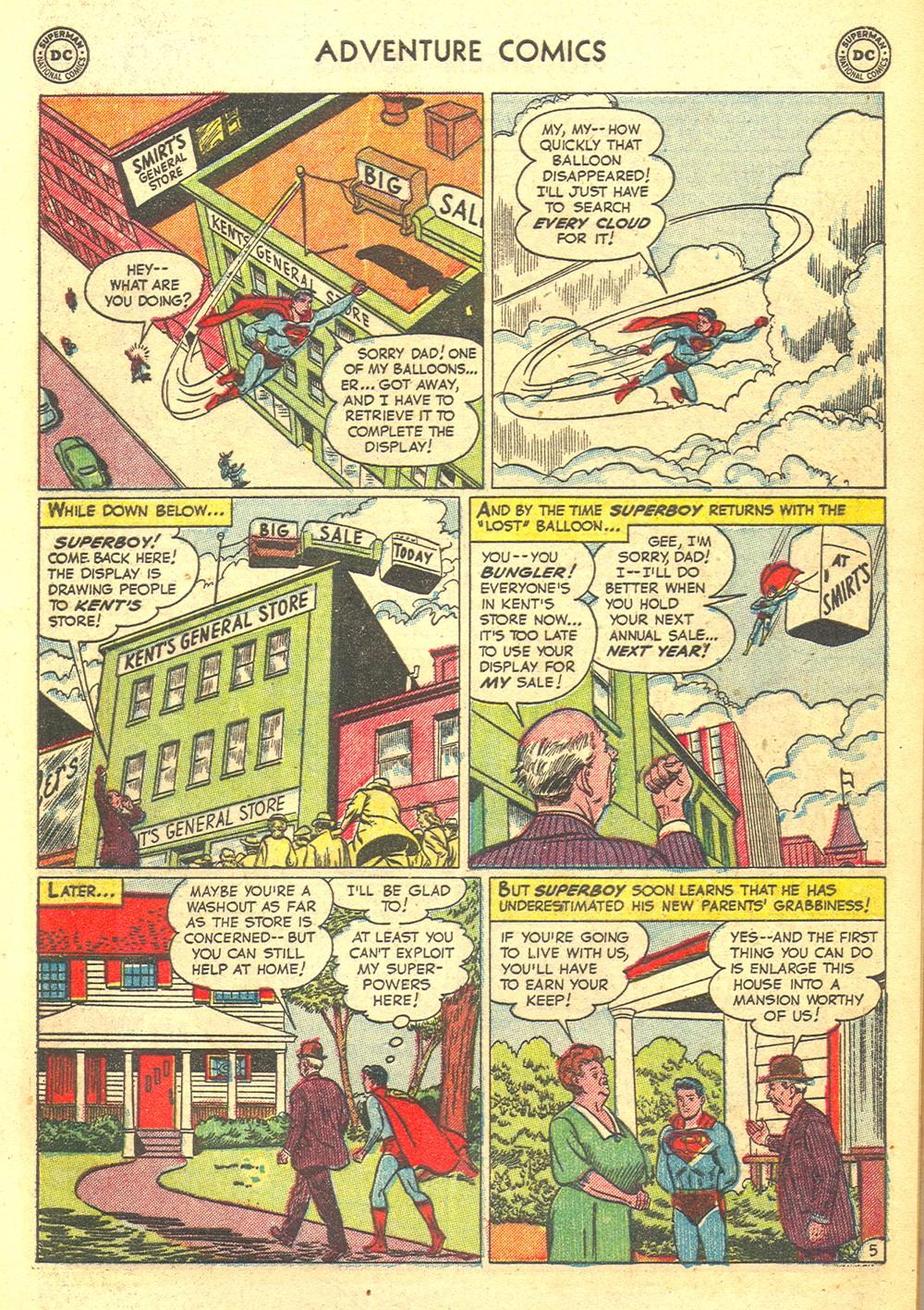 Read online Adventure Comics (1938) comic -  Issue #176 - 7