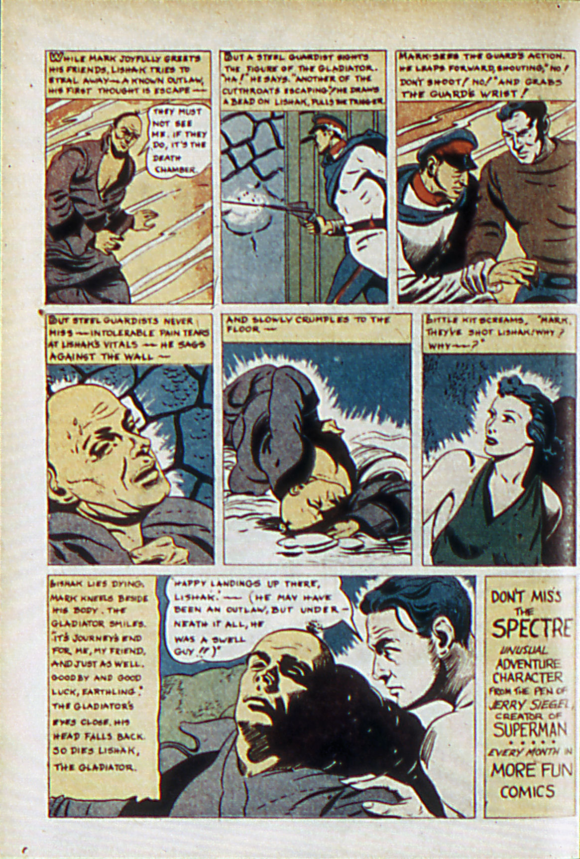 Read online Adventure Comics (1938) comic -  Issue #61 - 19