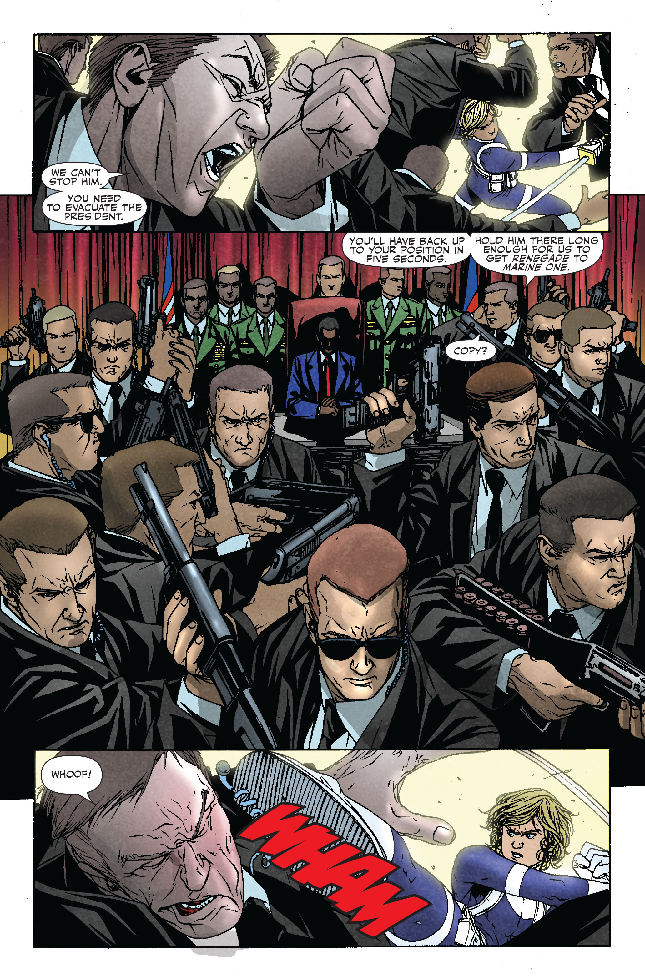 Read online Siege: Secret Warriors comic -  Issue # Full - 18