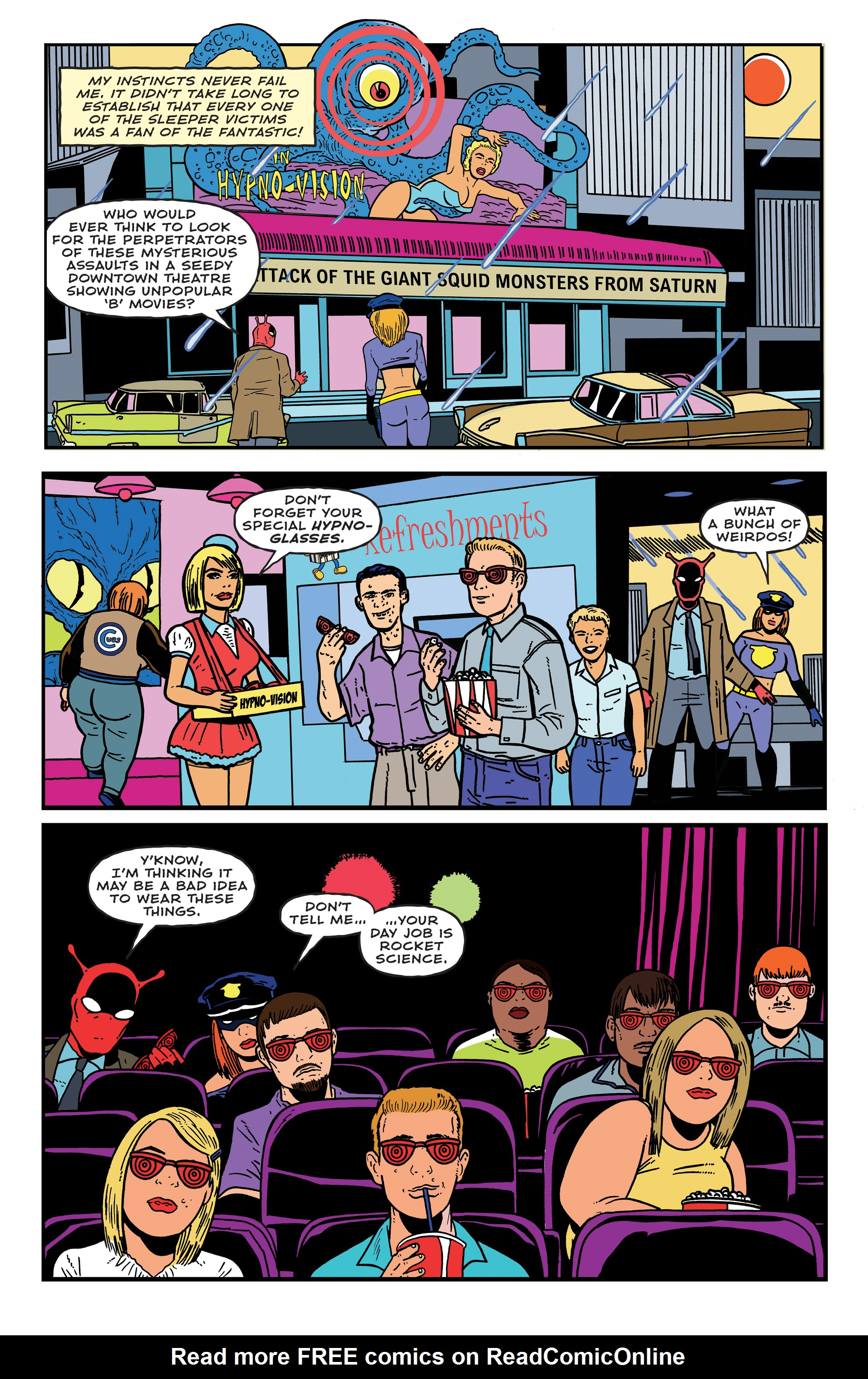 Read online Bulletproof Coffin: The Thousand Yard Stare comic -  Issue # Full - 14