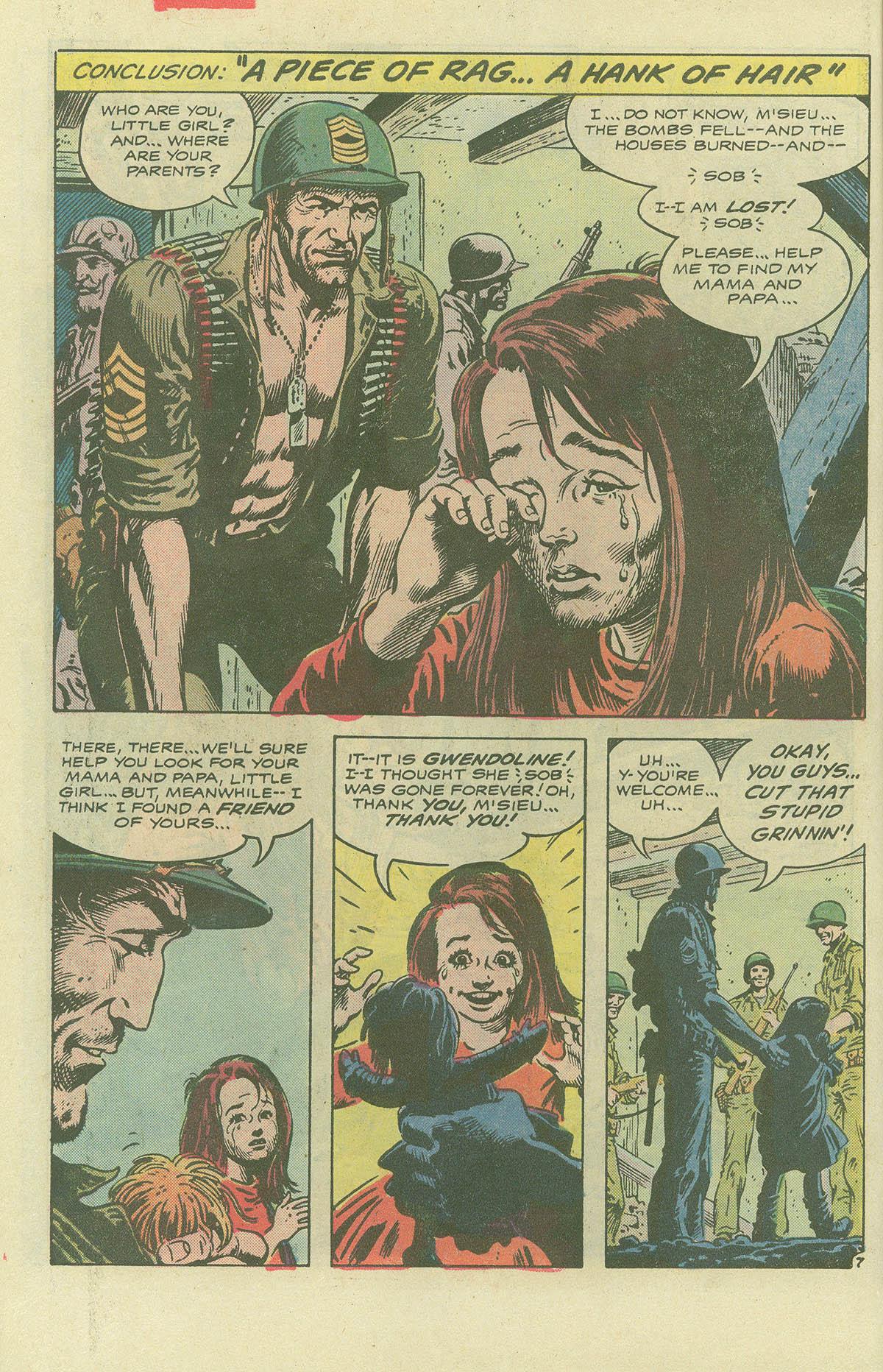 Read online Sgt. Rock comic -  Issue #396 - 9