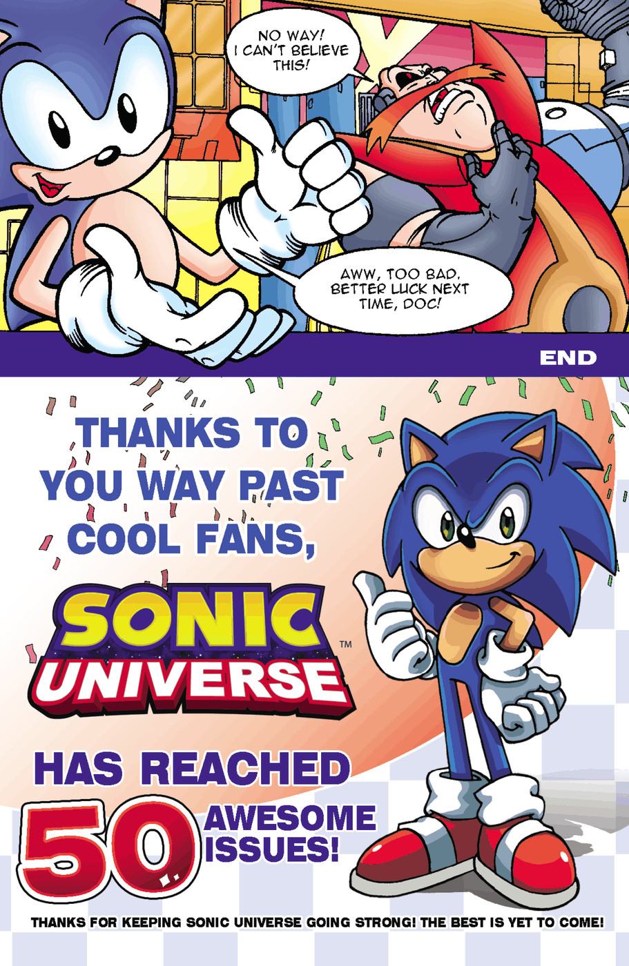 Read online Sonic Universe comic -  Issue #50 - 37