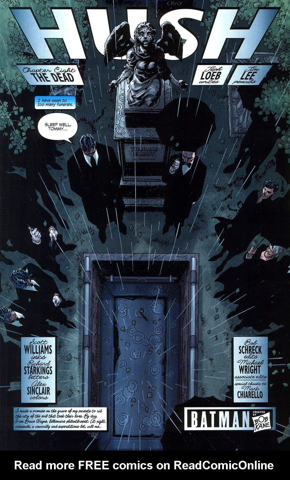 Read online Batman: Hush comic -  Issue #8 - 5