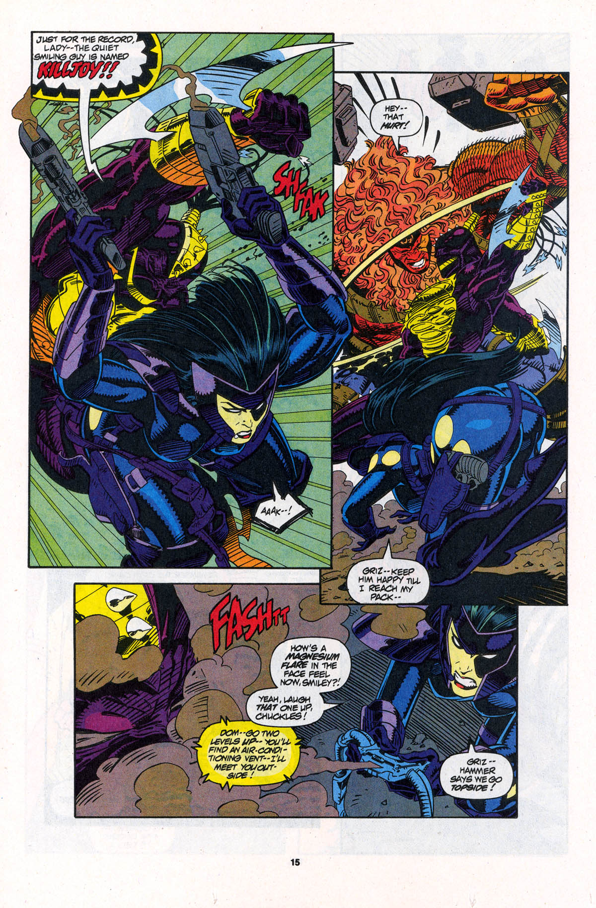 Read online X-Force (1991) comic -  Issue #23 - 15