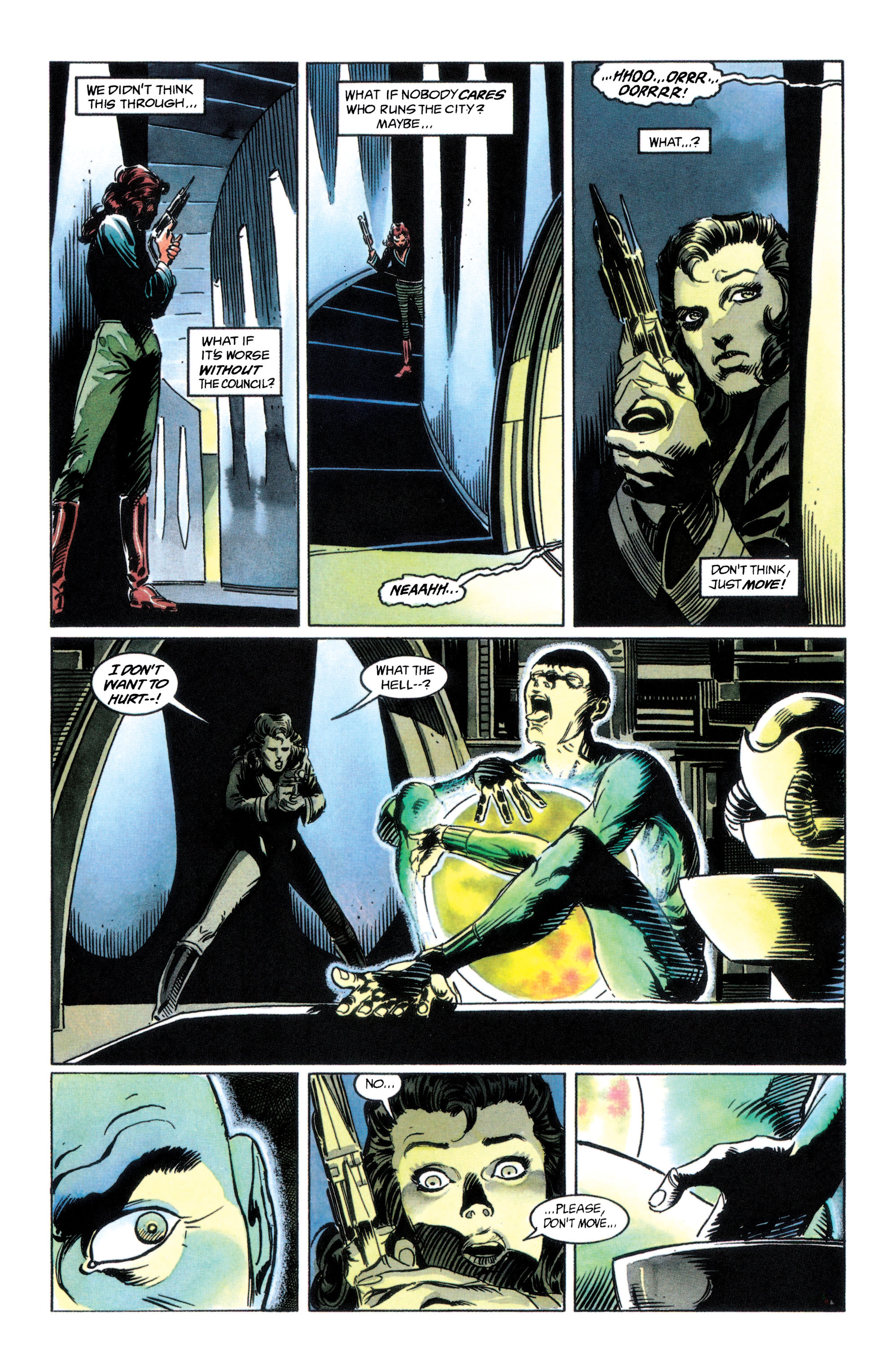Read online Adam Strange (1990) comic -  Issue #2 - 29