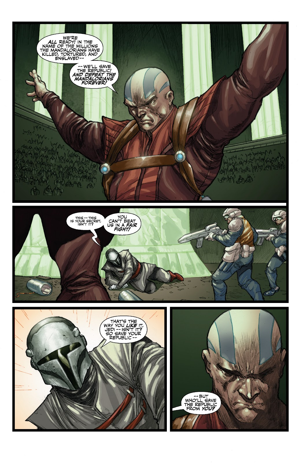 Read online Star Wars Legends: The Old Republic - Epic Collection comic -  Issue # TPB 3 (Part 3) - 29