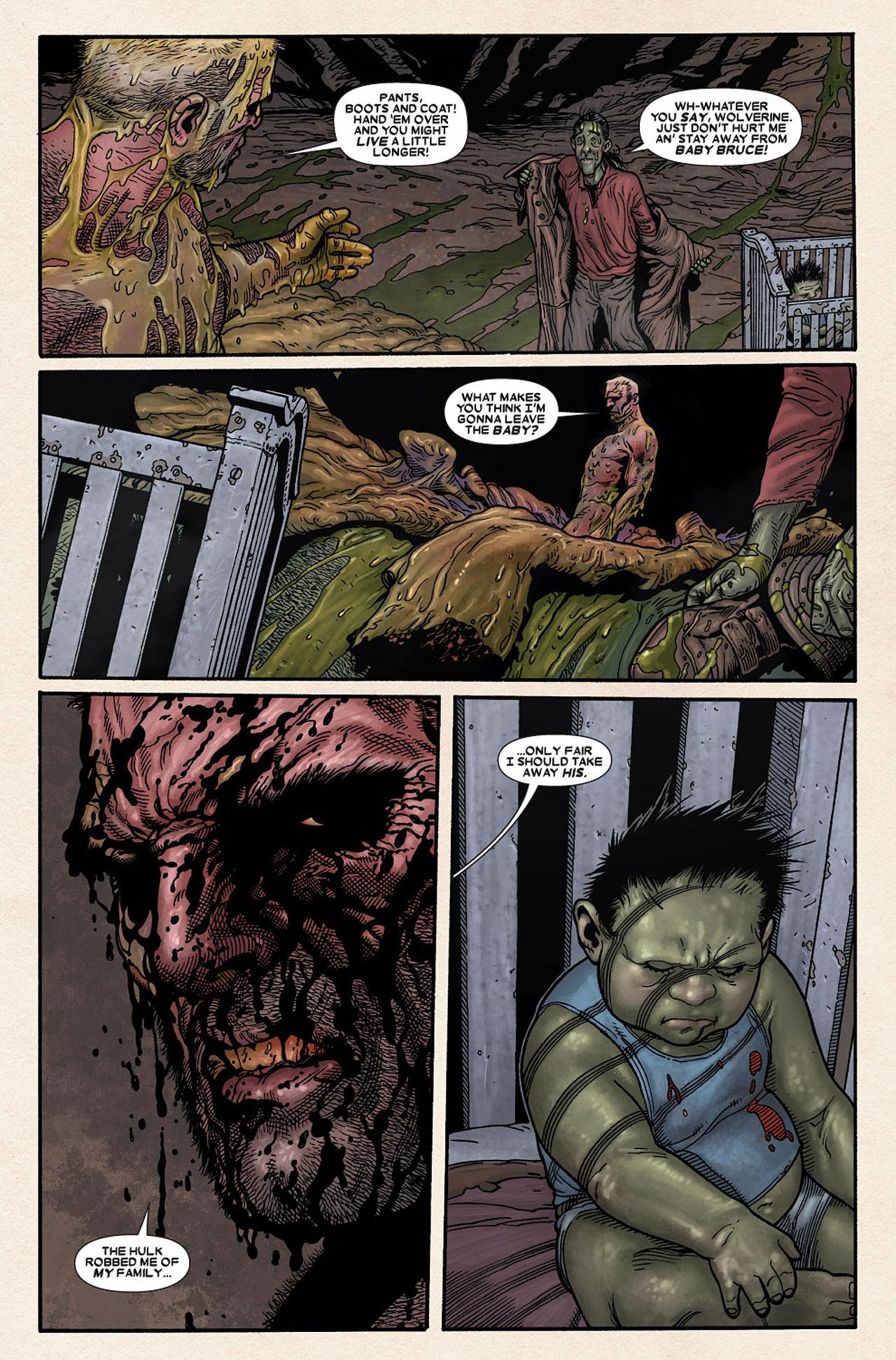 Read online Wolverine: Old Man Logan comic -  Issue # Full - 191