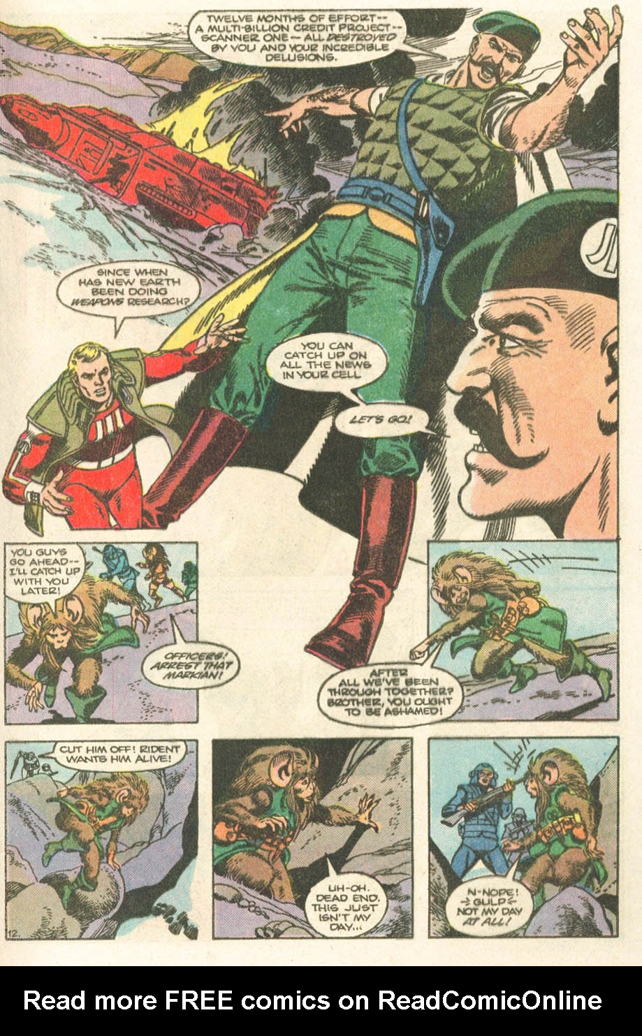 Read online Atari Force (1984) comic -  Issue #19 - 14