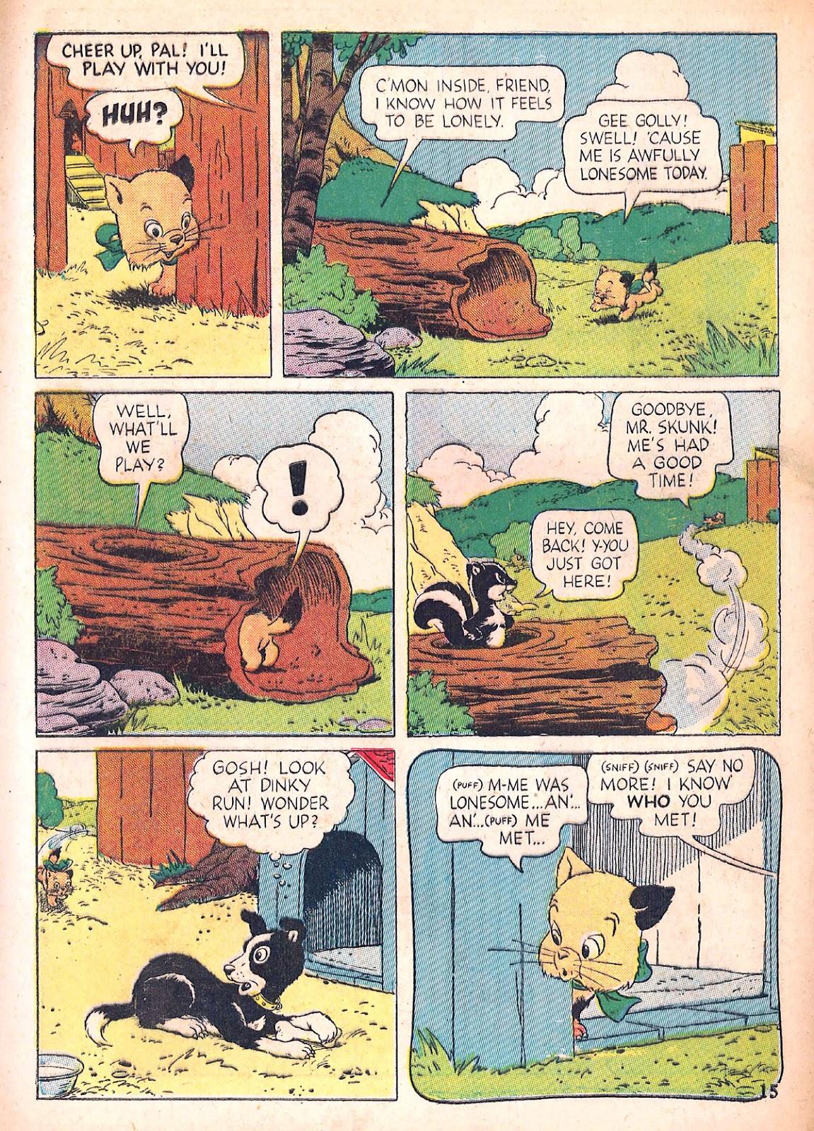 Read online Animal Comics comic -  Issue #4 - 18