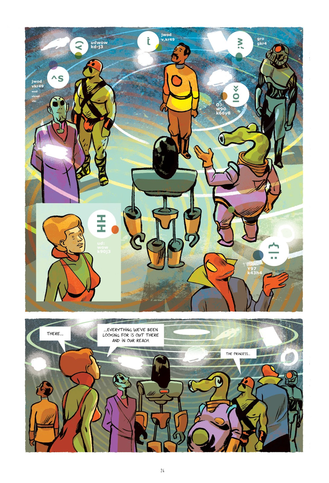 Read online Infinity 8 comic -  Issue # _TPB 3 - 25