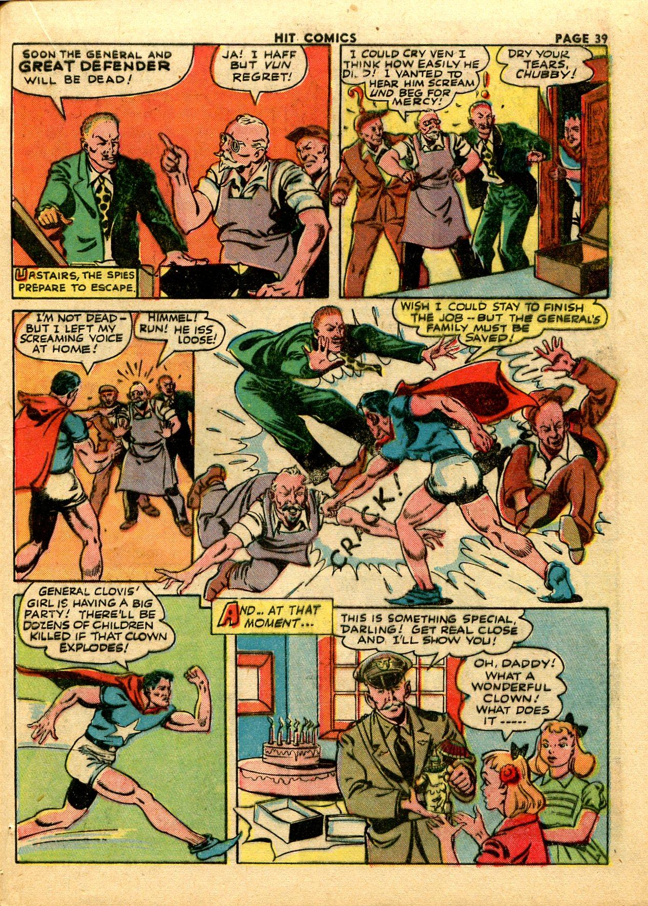 Read online Hit Comics comic -  Issue #28 - 42