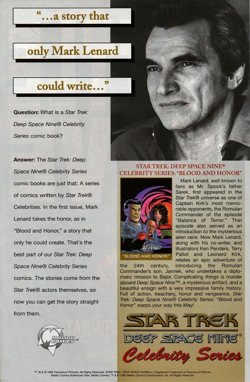 Read online Star Trek: Deep Space Nine (1993) comic -  Issue # _Special 1 - 34