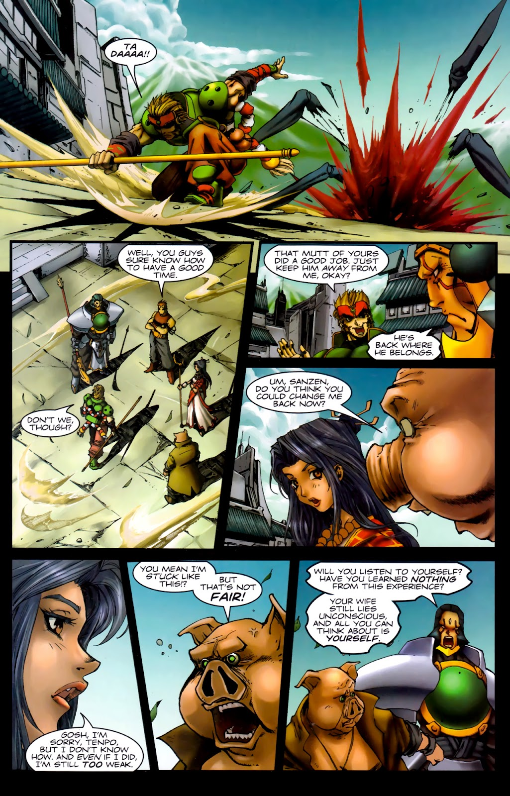 Read online Xin: Journey of the Monkey King comic -  Issue #3 - 23