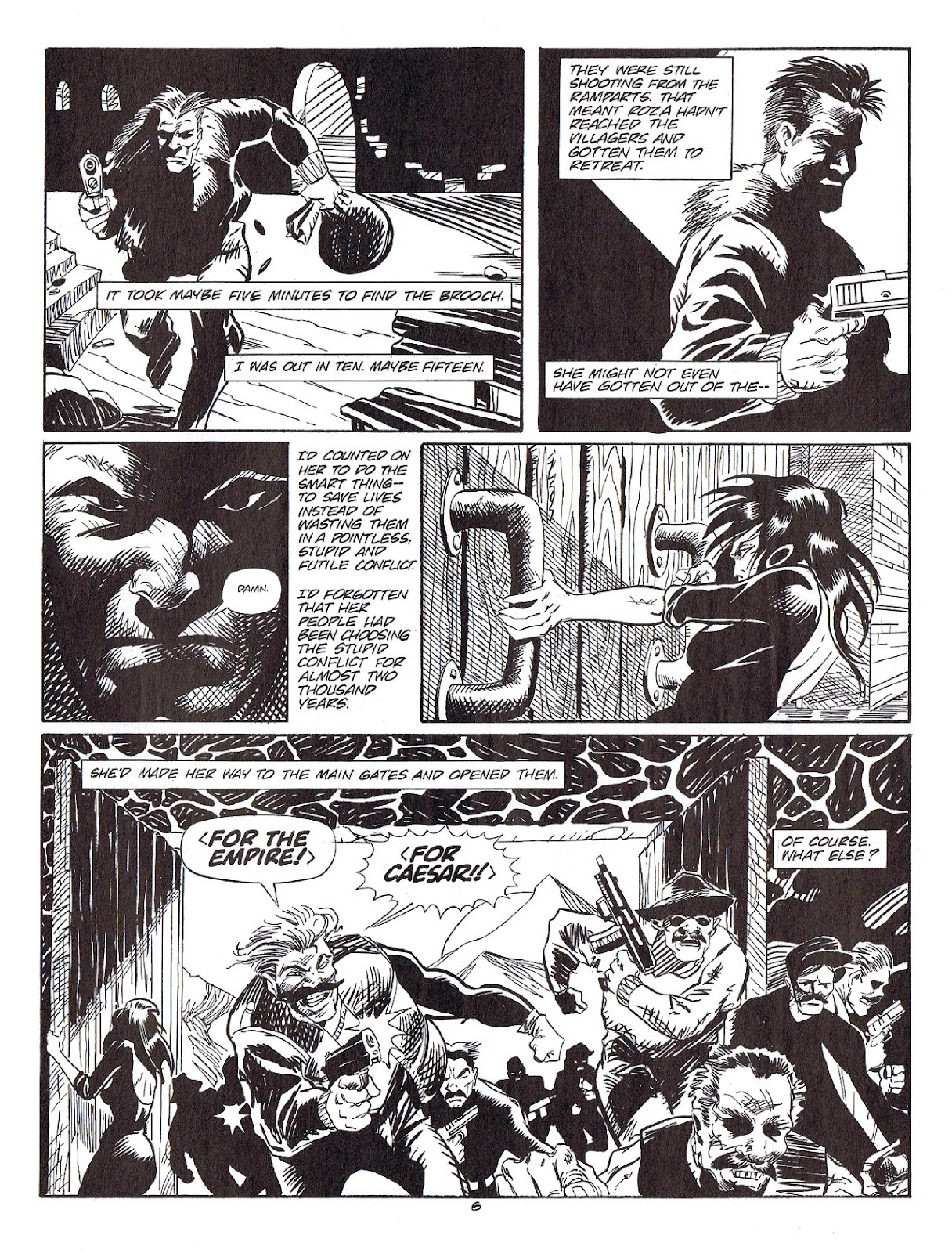 Read online Merchants of Death comic -  Issue #4 - 36