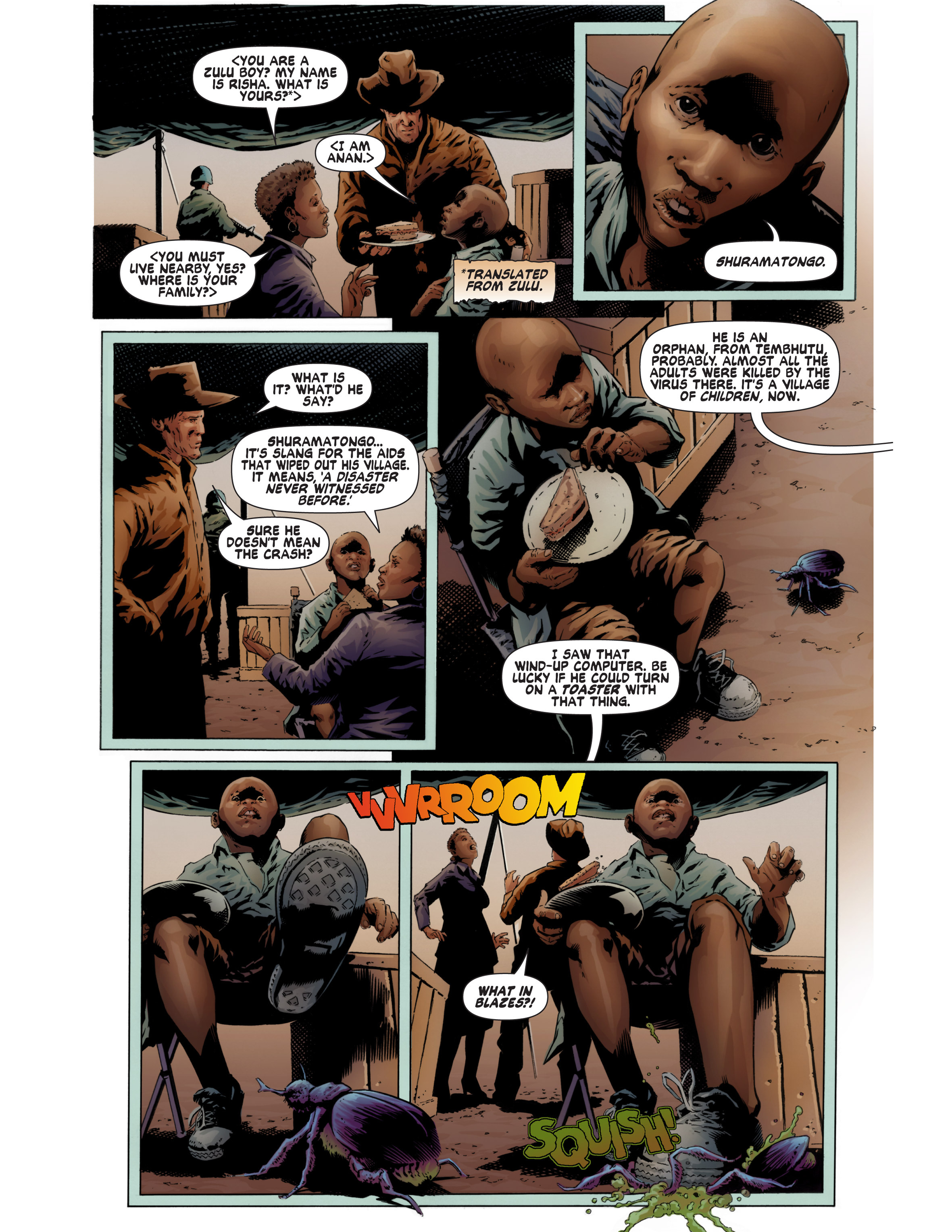 Read online Bad Planet comic -  Issue # TPB - 61